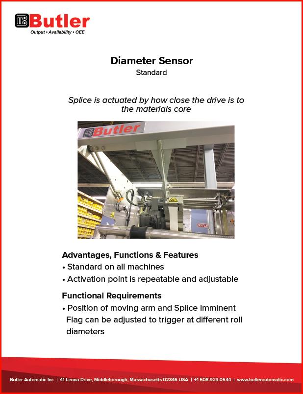 Butler Automatic Diameter Sensor