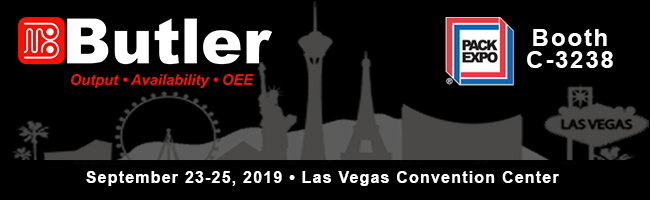 Butler Automatic Pack Expo 2019 Las Vegas
