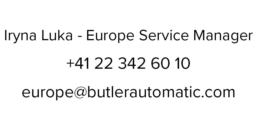 Iryna Luka - Europe Service Manager