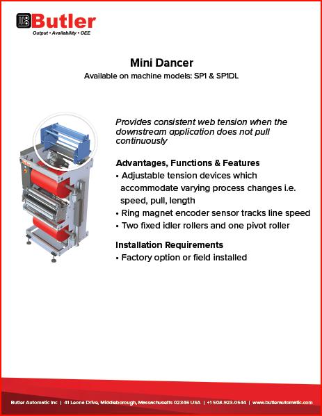 Mini Dancer Automatic Splicer Butler Automatic