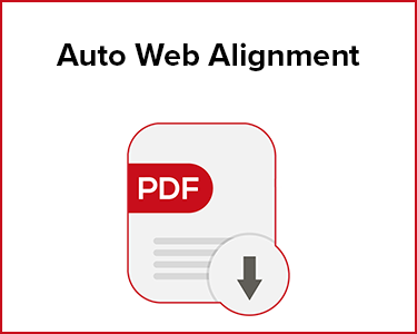 Butler Automatic Auto Web Alignment Application Data Sheet