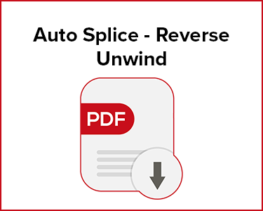 Butler Automatic Auto Splice - Reverse Unwind Application Data Sheet
