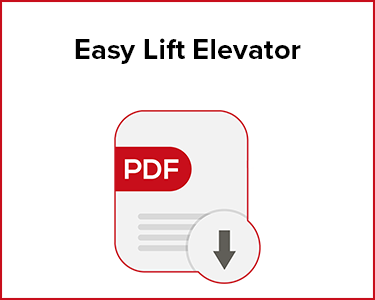 Butler Automatic Easy Lift Elevator Application Data Sheet