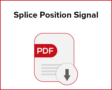 Butler Automatic Splice Position Signal Application Data Sheet