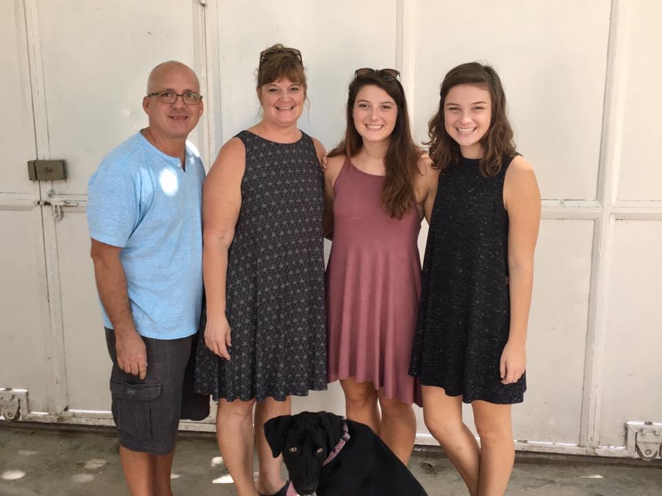 Troy, Gwen, Meredith, & Makayla Price