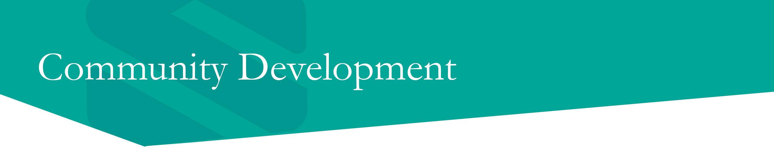 Community Development — Santee-Lynches Regional Council of