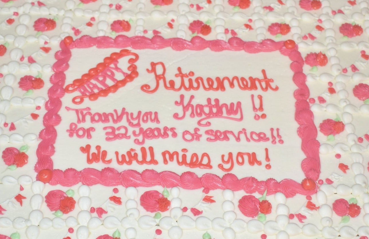 RETIREMENT CEREMONY FOR MRS. KATHY POWELL - DEPUTY EXECUTIVE DIRECTOR & CFOAugust 22, 2019