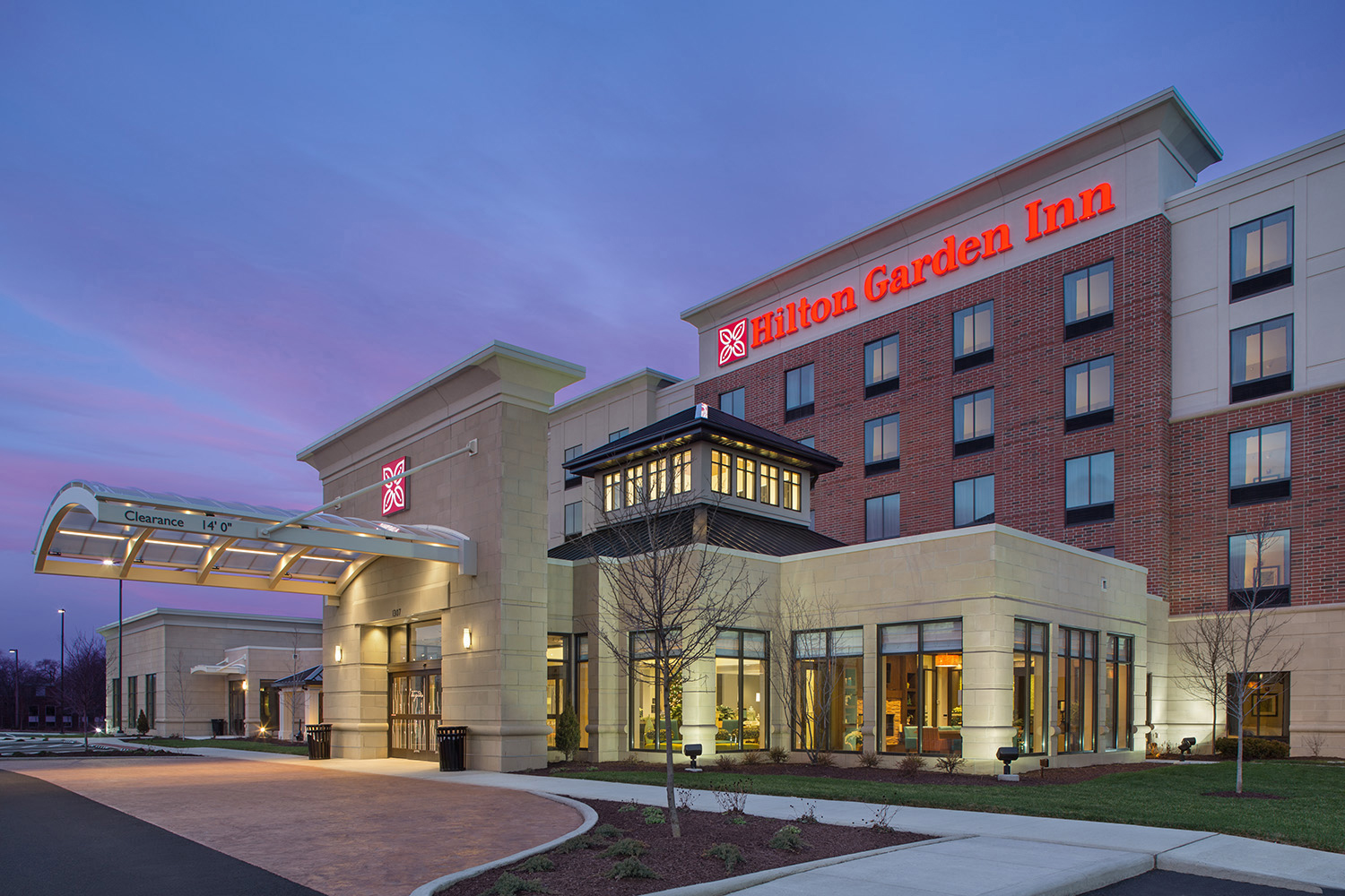 Hilton Garden Inn Akron Oh Kaczmar Architects Incorporated