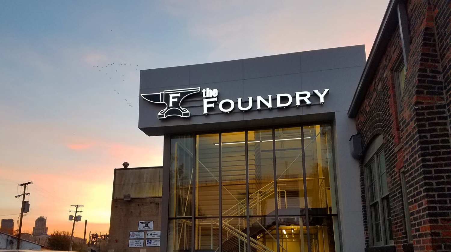 The Foundry High Performance Rowing Training Center - CLEVELAND, OH