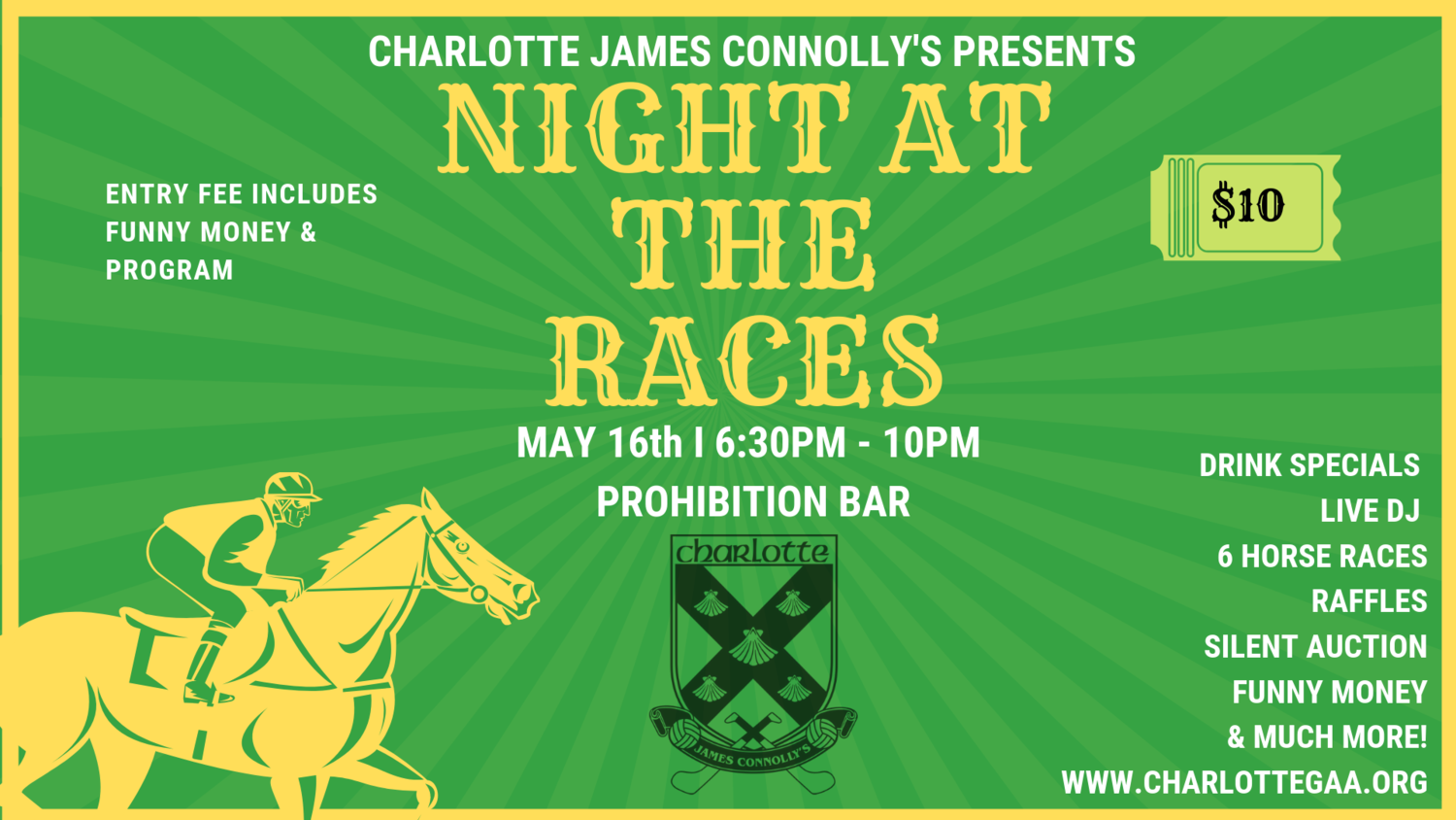 Night at The Races — Charlotte James Connolly's Gaelic