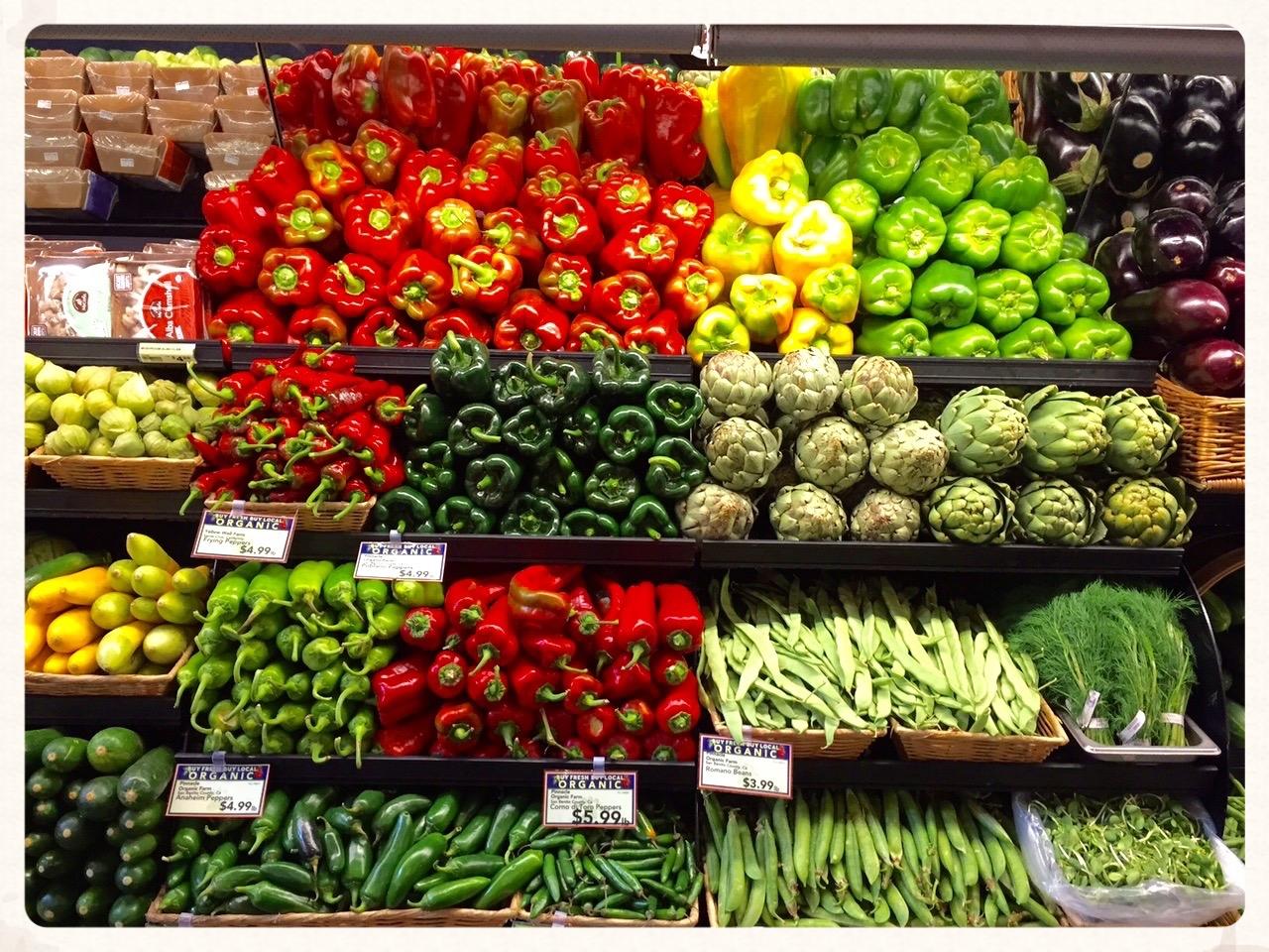 My boyfriends beautiful produce display. Food is precious.