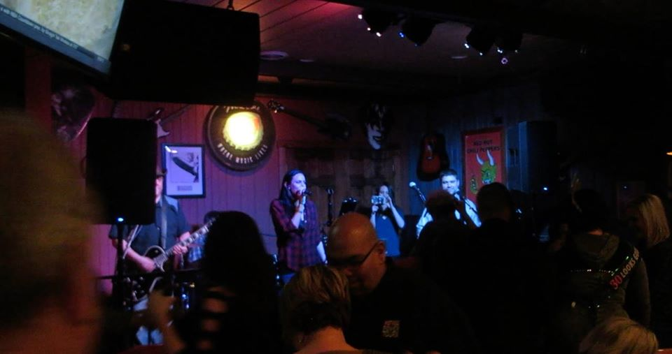 CK and The Gray at Gruben's Uptown Tap in Plainfield, IL