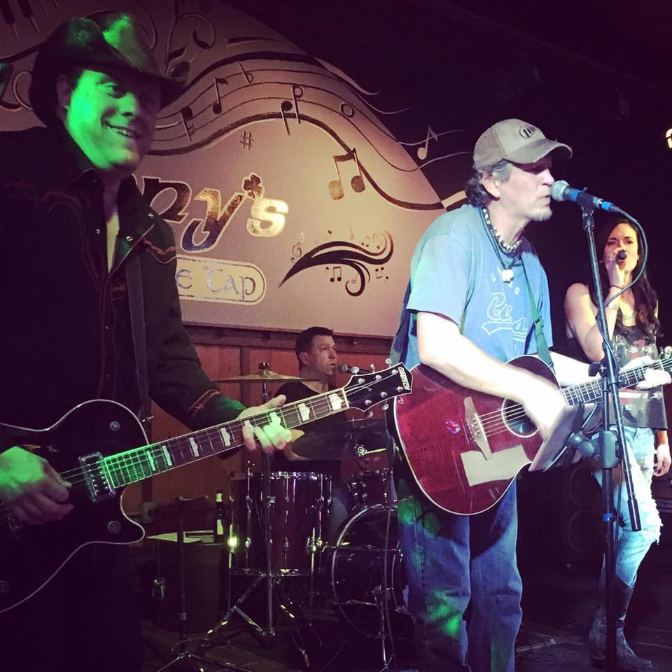 CK and The Gray performs at Jenny's Southside Tap in Mokena