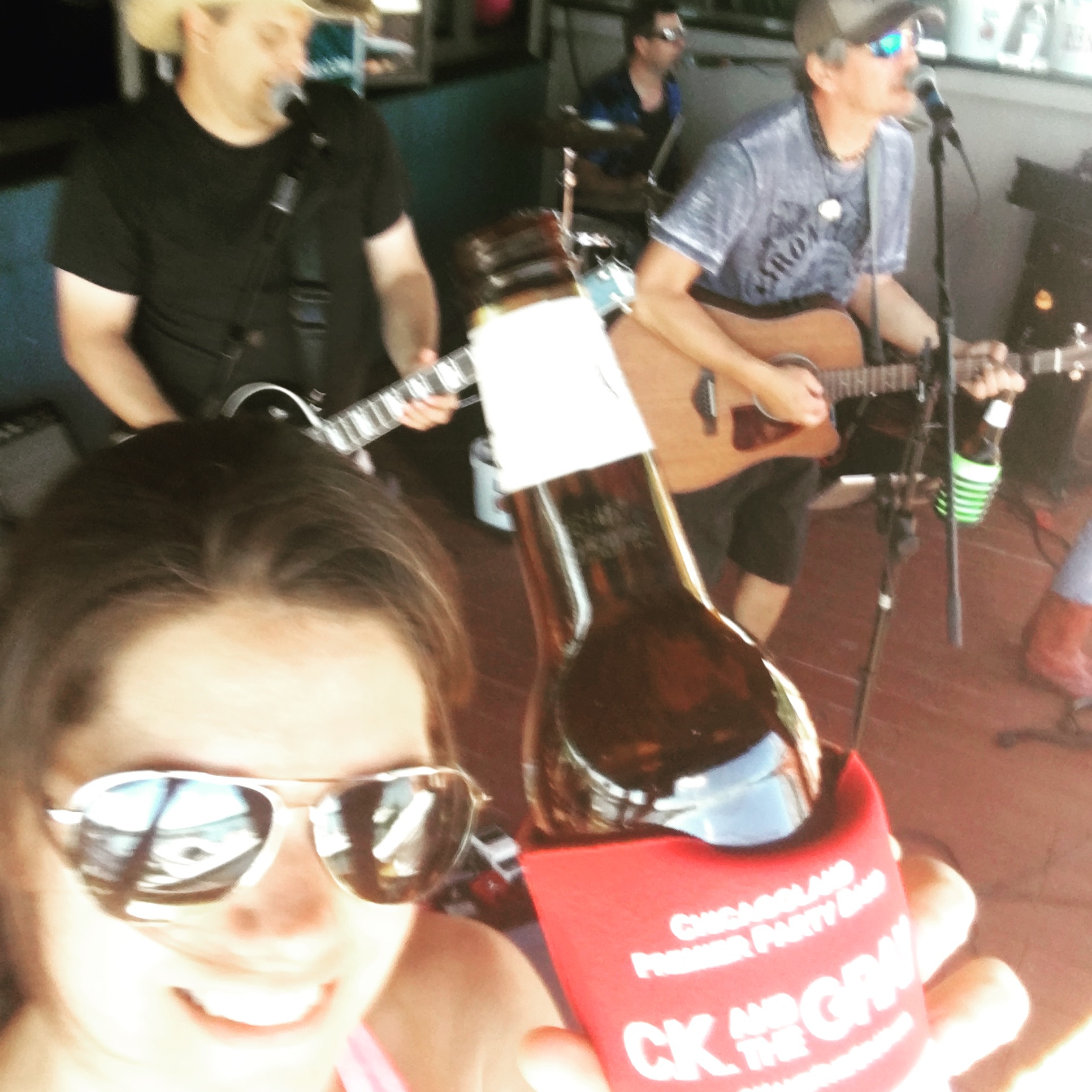 #ckkoozie at Horns & Halos Saloon in Channahon, IL