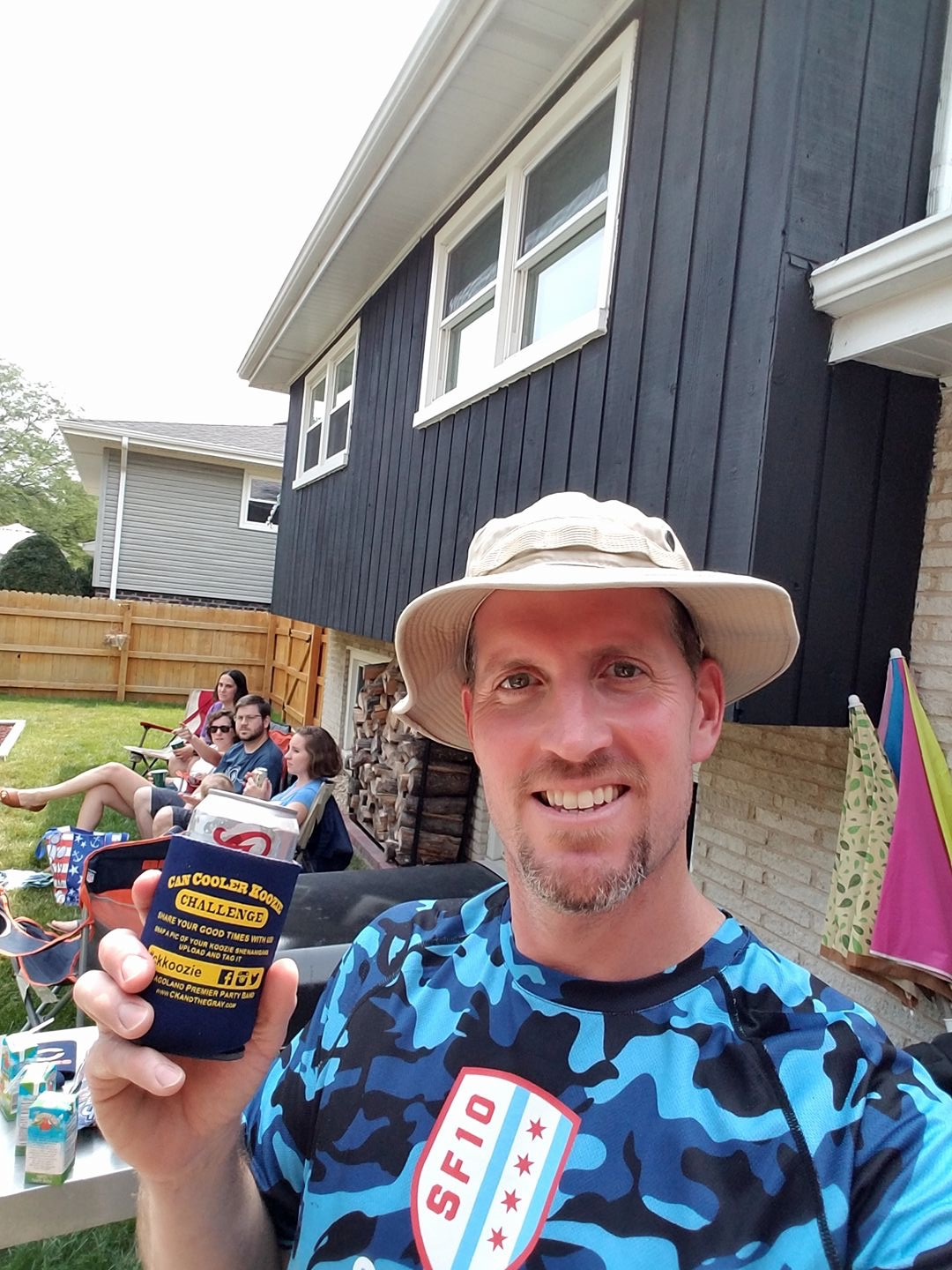 Mike W - #ckkoozie #ckcancooler - CK and The Gray