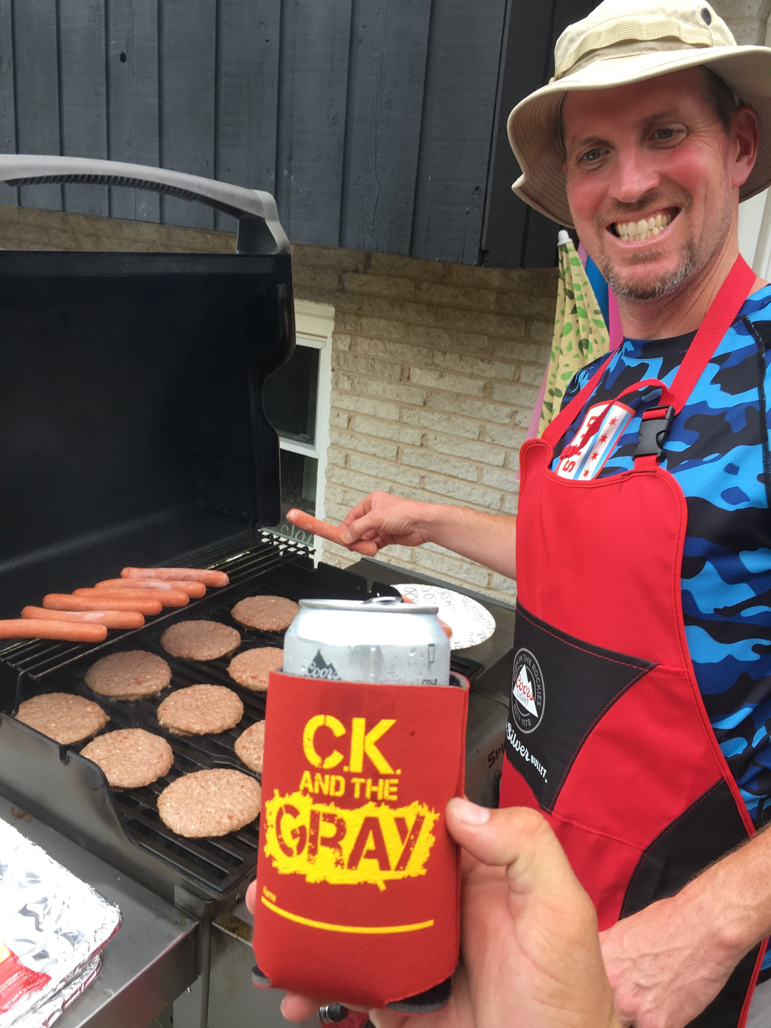 Mike #ckkoozie #ckcancooler - CK and The Gray
