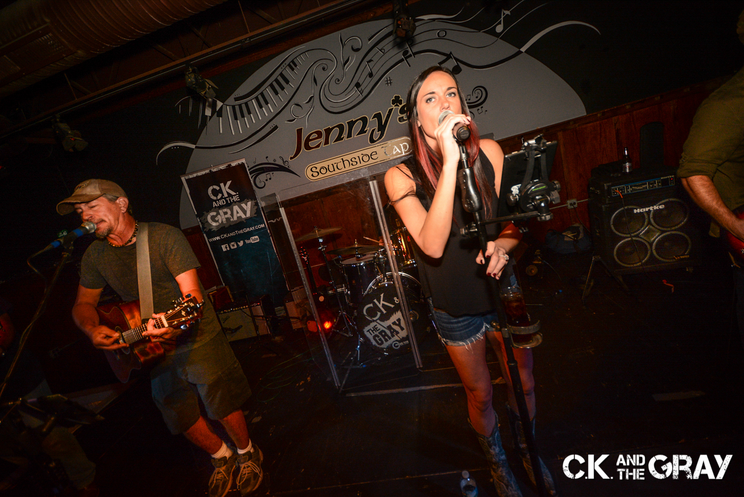Kris Hachmeister and Chrissy Karl of CK and The Gray