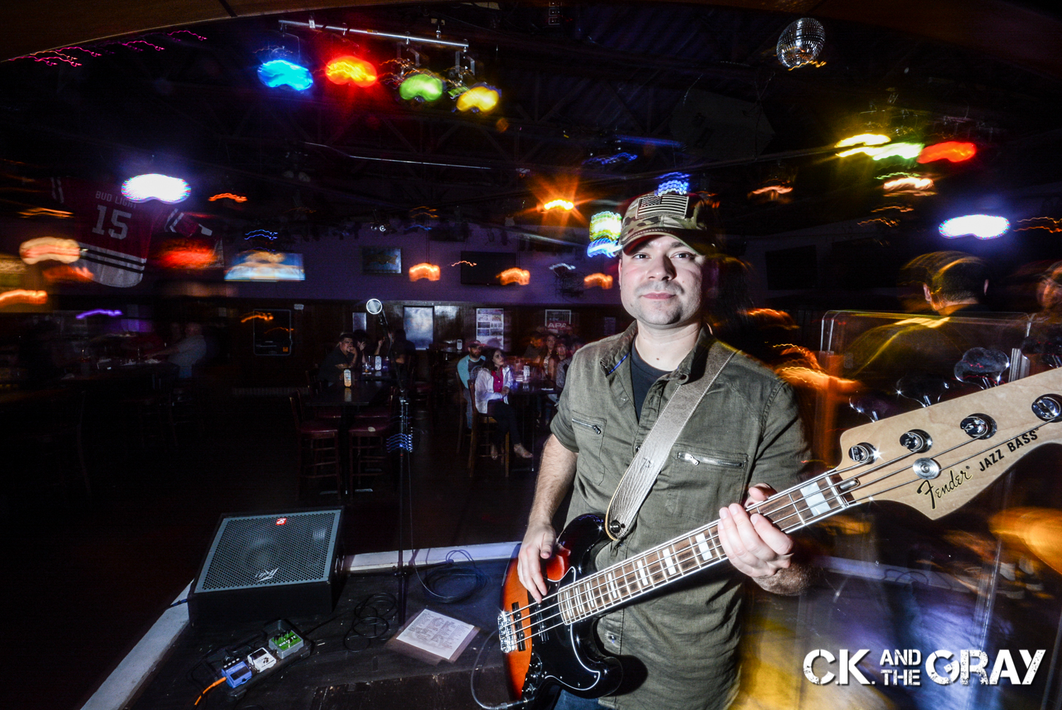 Ken Vercellotti of CK and The Gray performs at Jenny's Southside Tap in Mokena