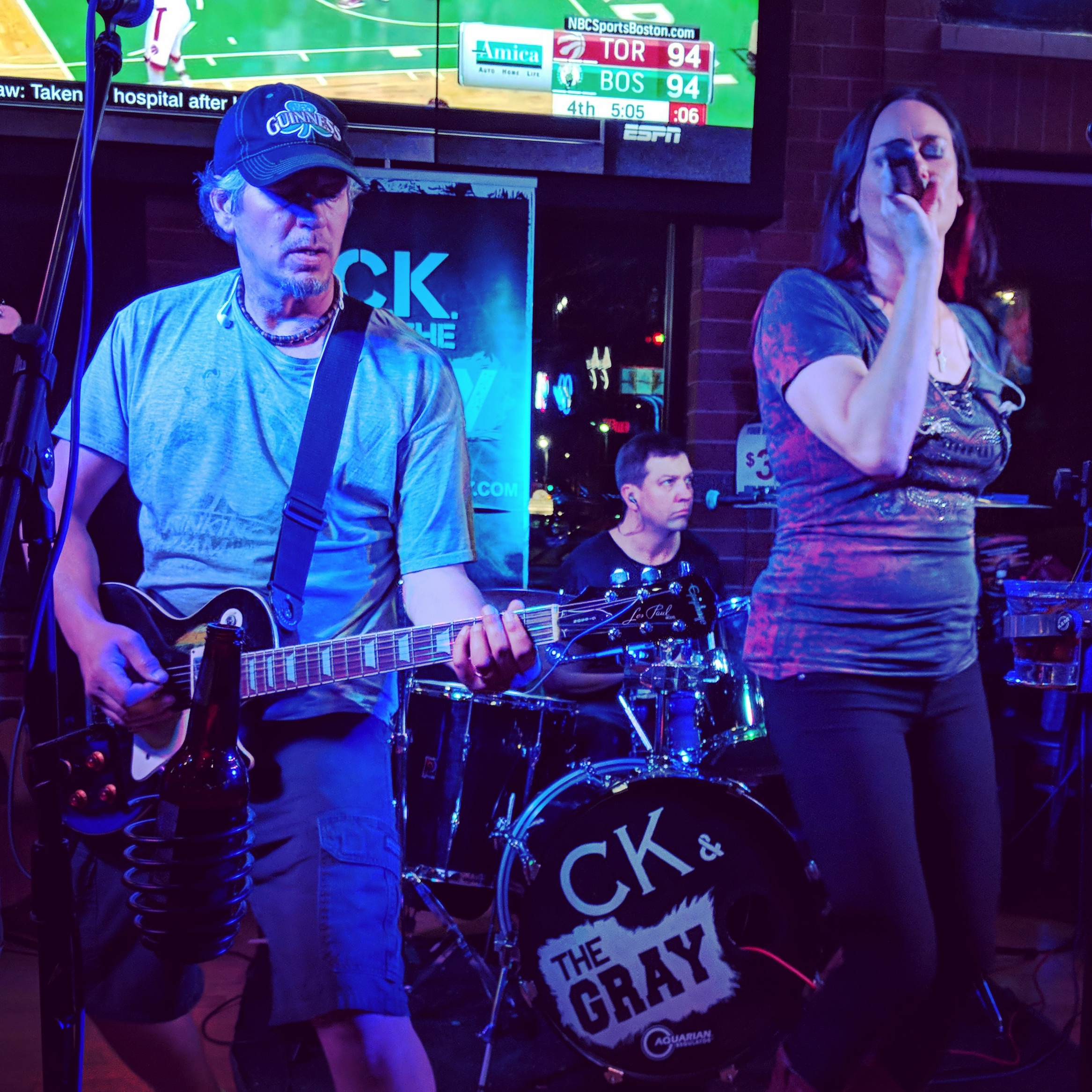 Kris Hachmeister, Carter Szok and Chrissy Karl of C.K and The Gray