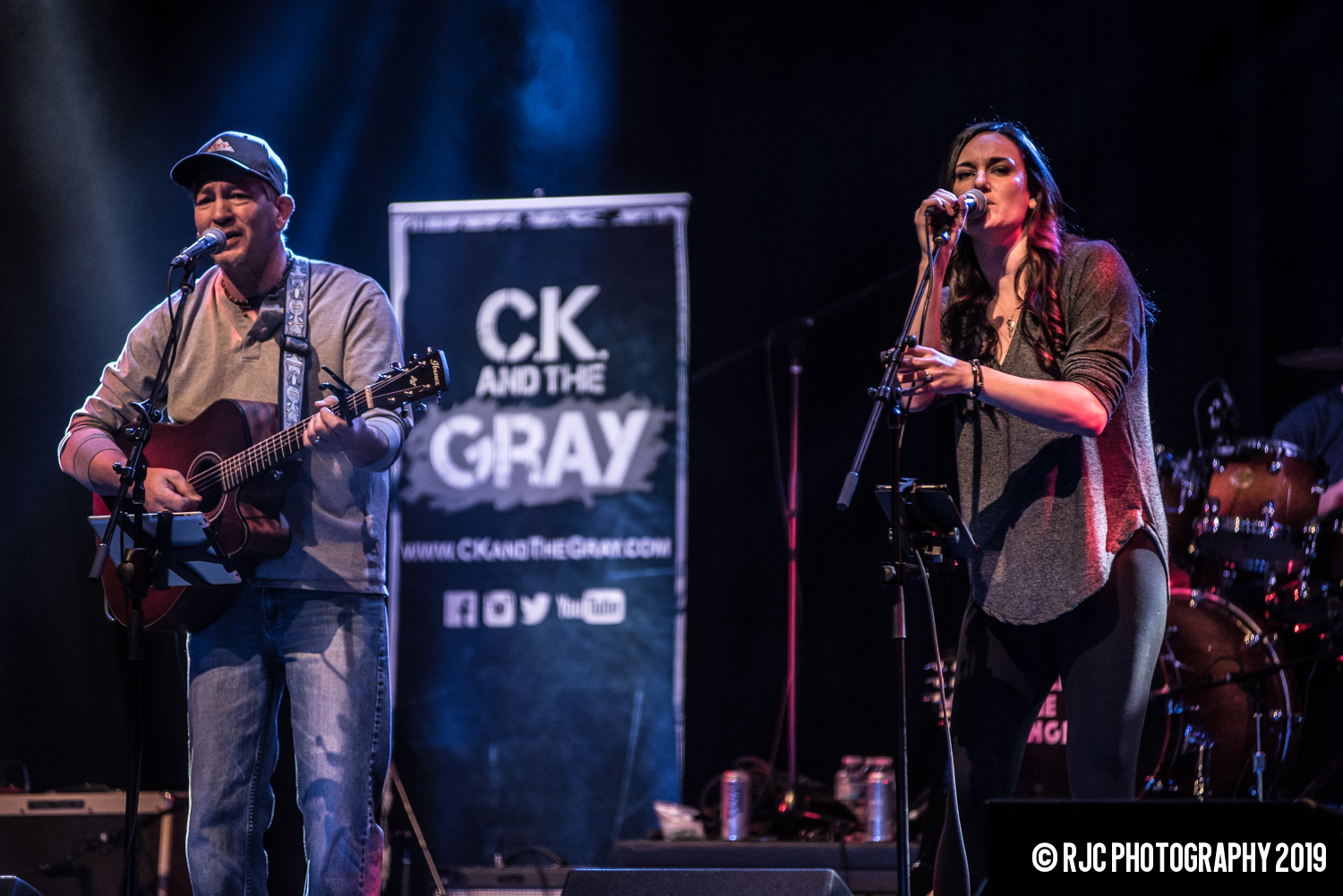 Kris and Chrissy C.K. and The Gray