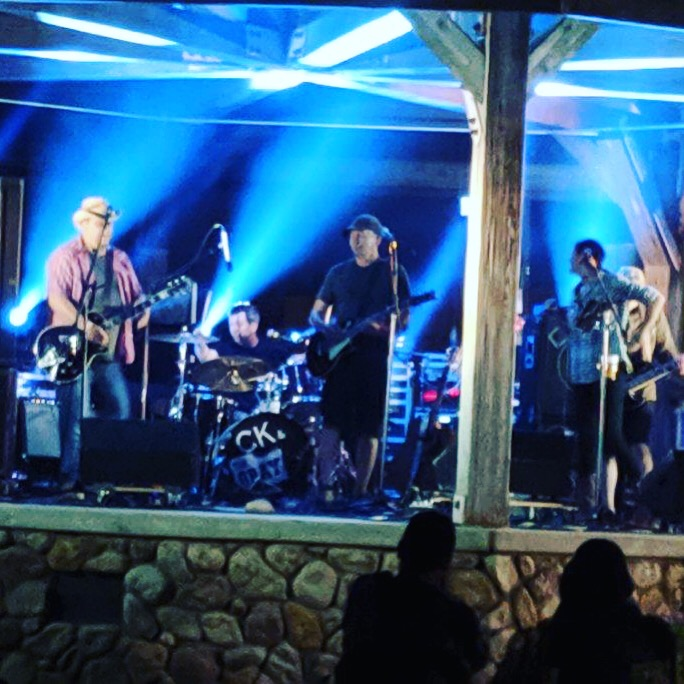 C.K. and The Gray at Villa Park Summerfest, 2019