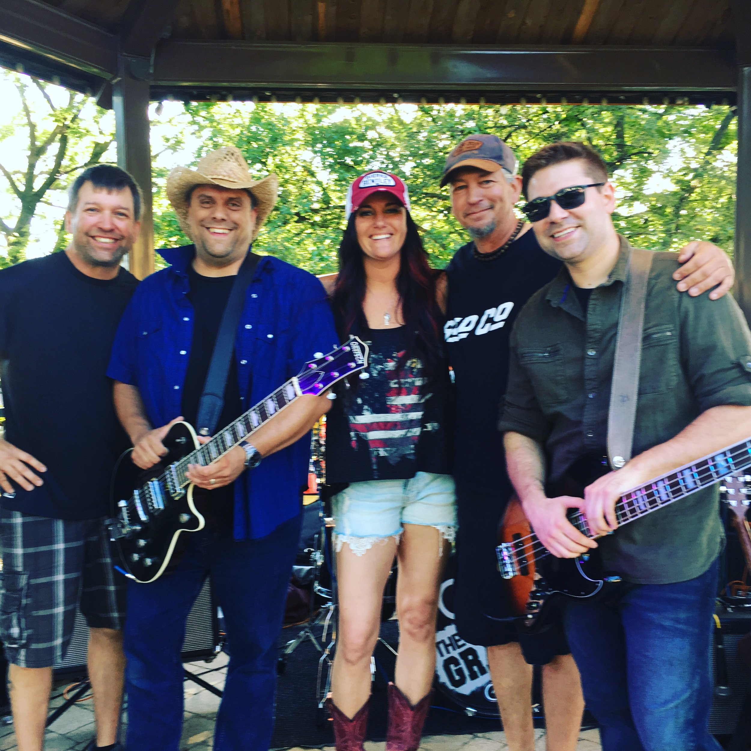 C. K. and The Gray at Cruisin Into Lockport 2019