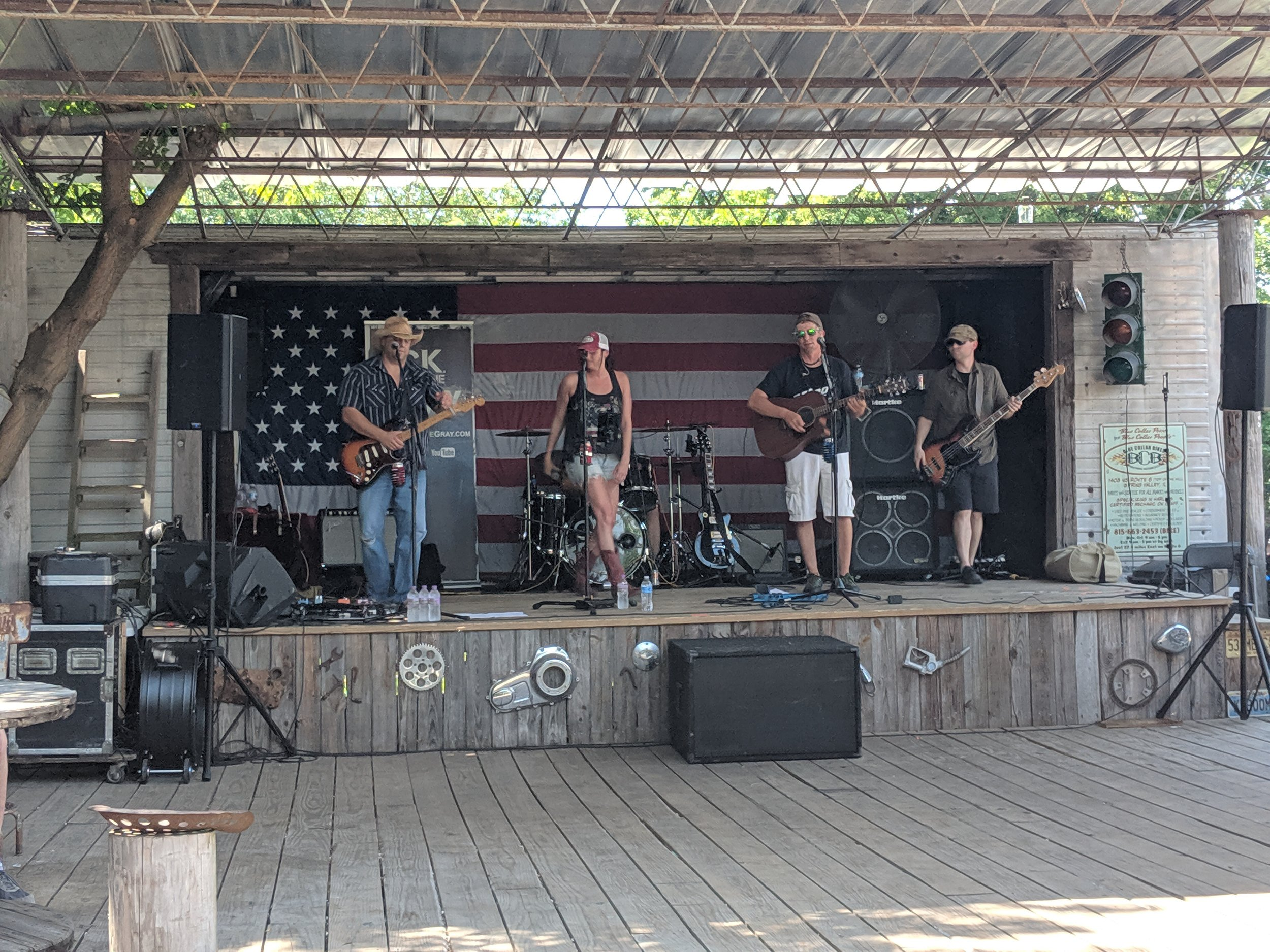 C.K. and The Gray at Psycho Silo Saloon