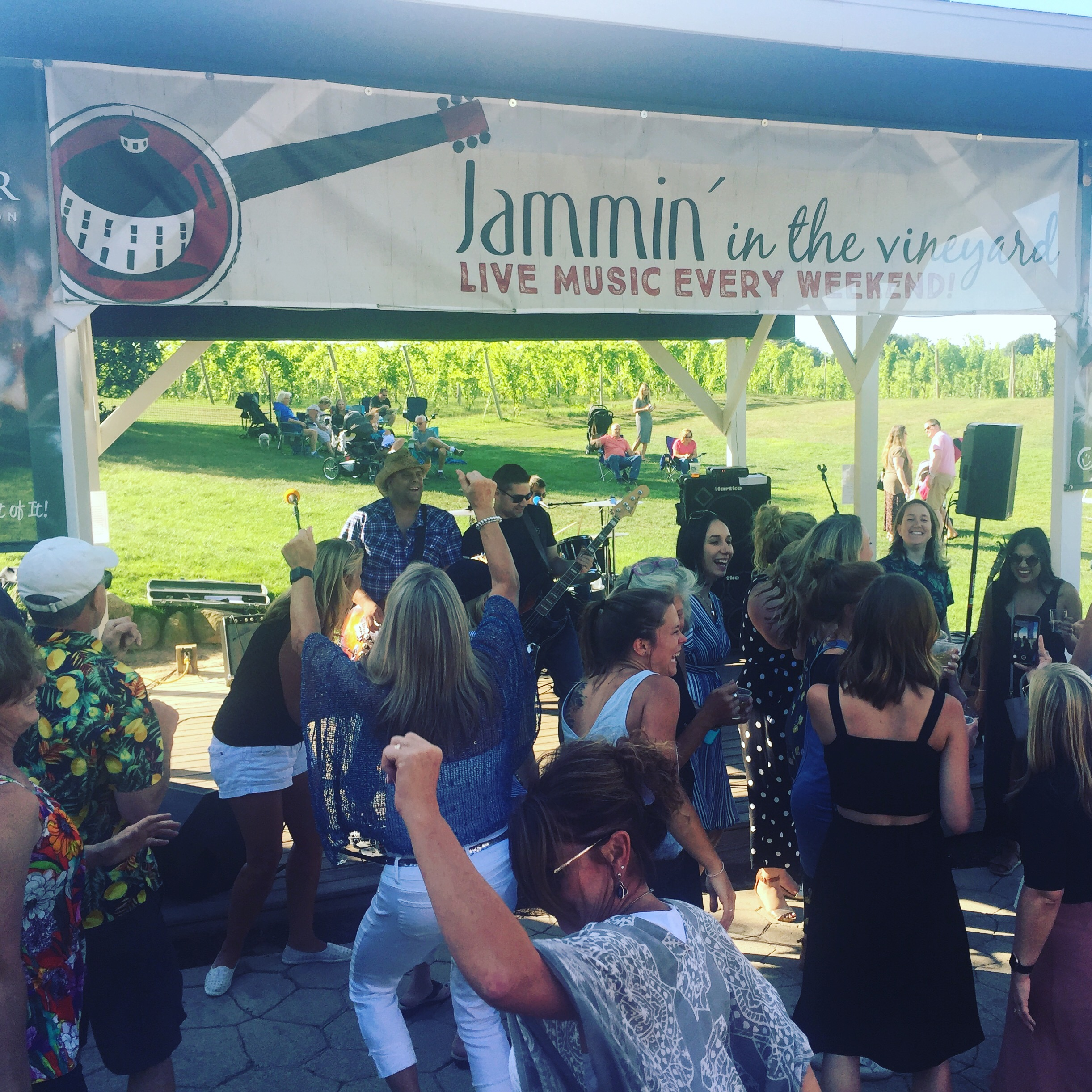 C.K. and The Gray at Round Barn's Jammin' in The Vineyard, 2019