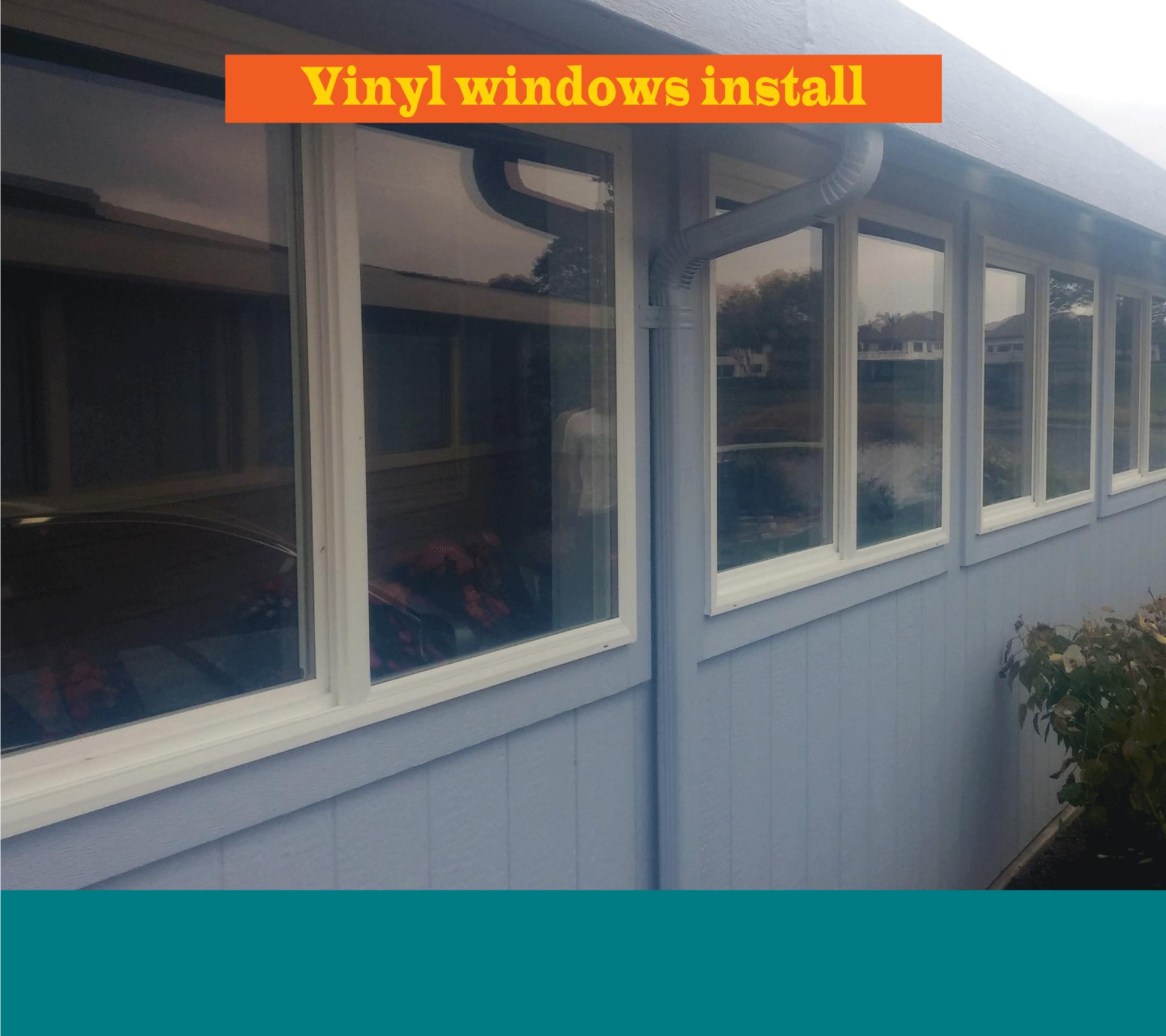Vinyl Window Upgrade