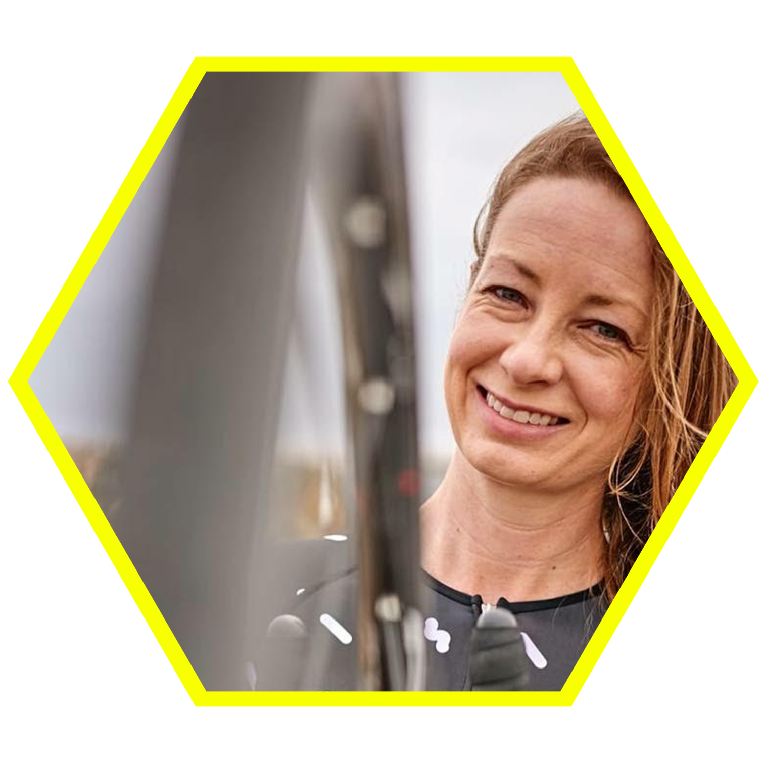 KARIS SHEARER - Karis Shearer is the assistant director of the X Elle Women's Cycling Association in Kelowna, British Columbia. In addition to being an avid amateur cyclist, triathlete, and commuter, she also writes about and advocates for equity and inclusion in sport.