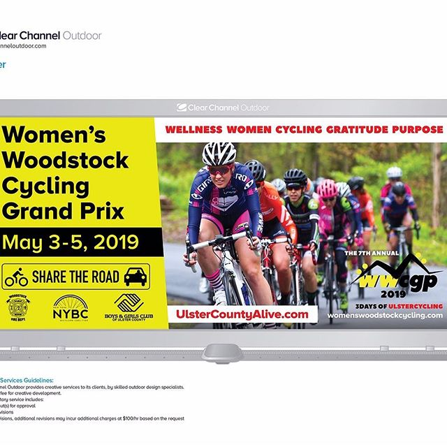 Billboards always catch your eye!! Here is ours for 2019, located on well-travelled Rte.28.🚵♀️👍🚵♀️👍. . . . . . #wwcgp @ulstercountyexecutive @ulstercountytourism #woodstockny #boysandgirlsclubulstercounty#ulstercountyalive