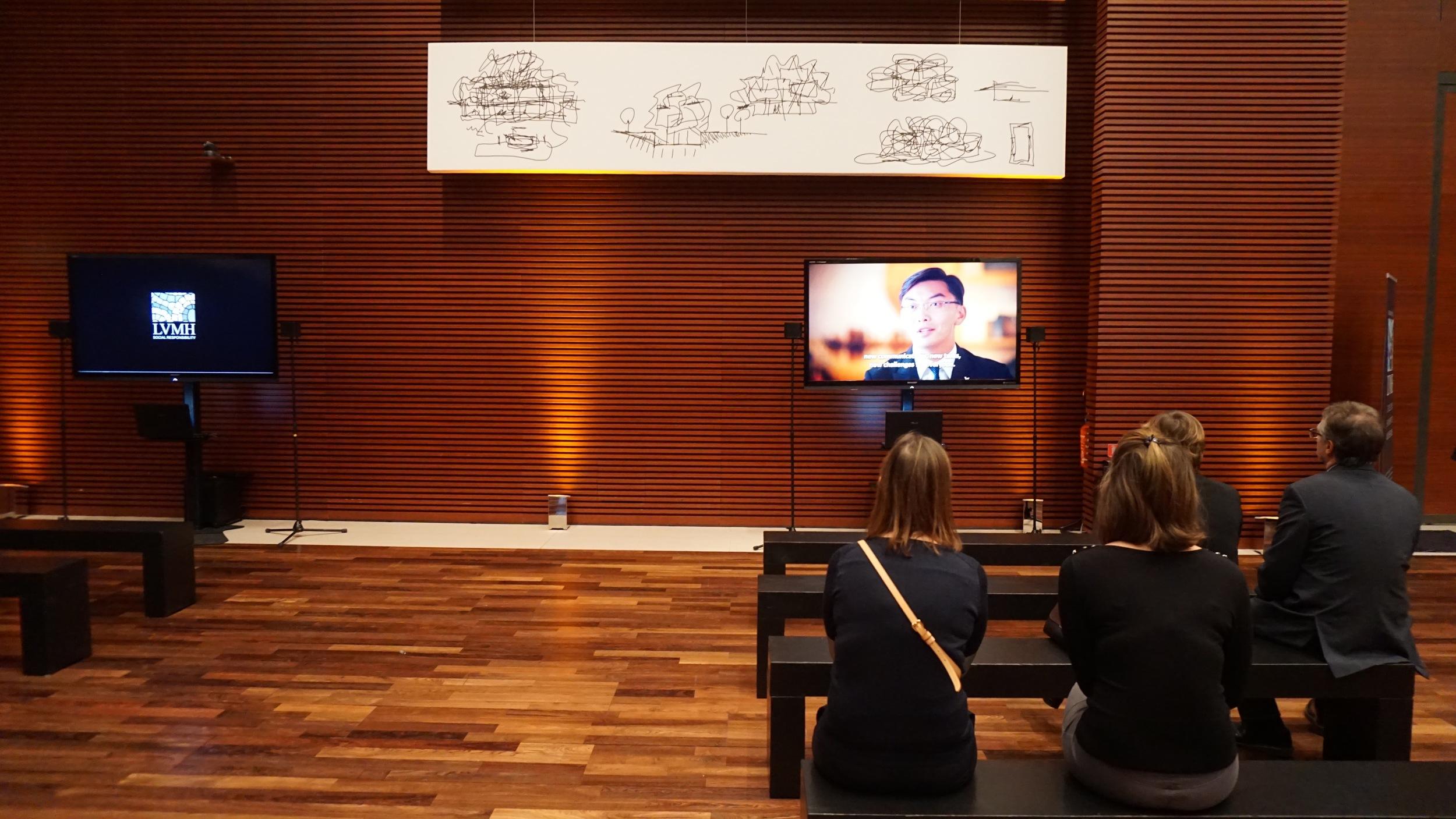 Film screening at the LVMH Headquarters