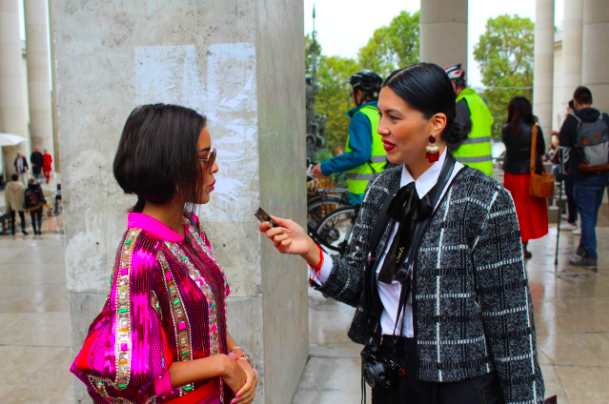 "This past Paris Fashion Week season, I covered the  other  fashion show: the ones happening outside! Instead of only interviewing designers, I also interviewed attendees for Remake's ""Humans of Fashion"" segment. See below my recap of the experience, and what it was like to talk about ethical fashion on the largest fashion stage in the world."
