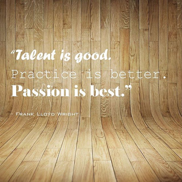 #Mondaywords ✌🏻 #franklloydwright #passion #inspo #eljfinefinishes #alwayshandpaint