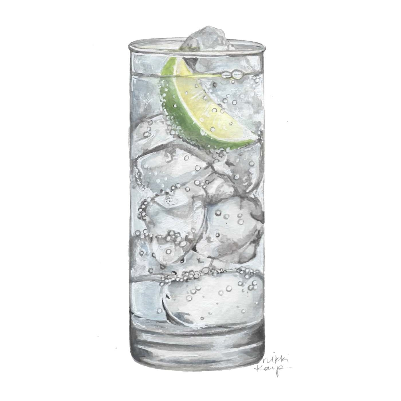 Eborn's Gin and Tonic
