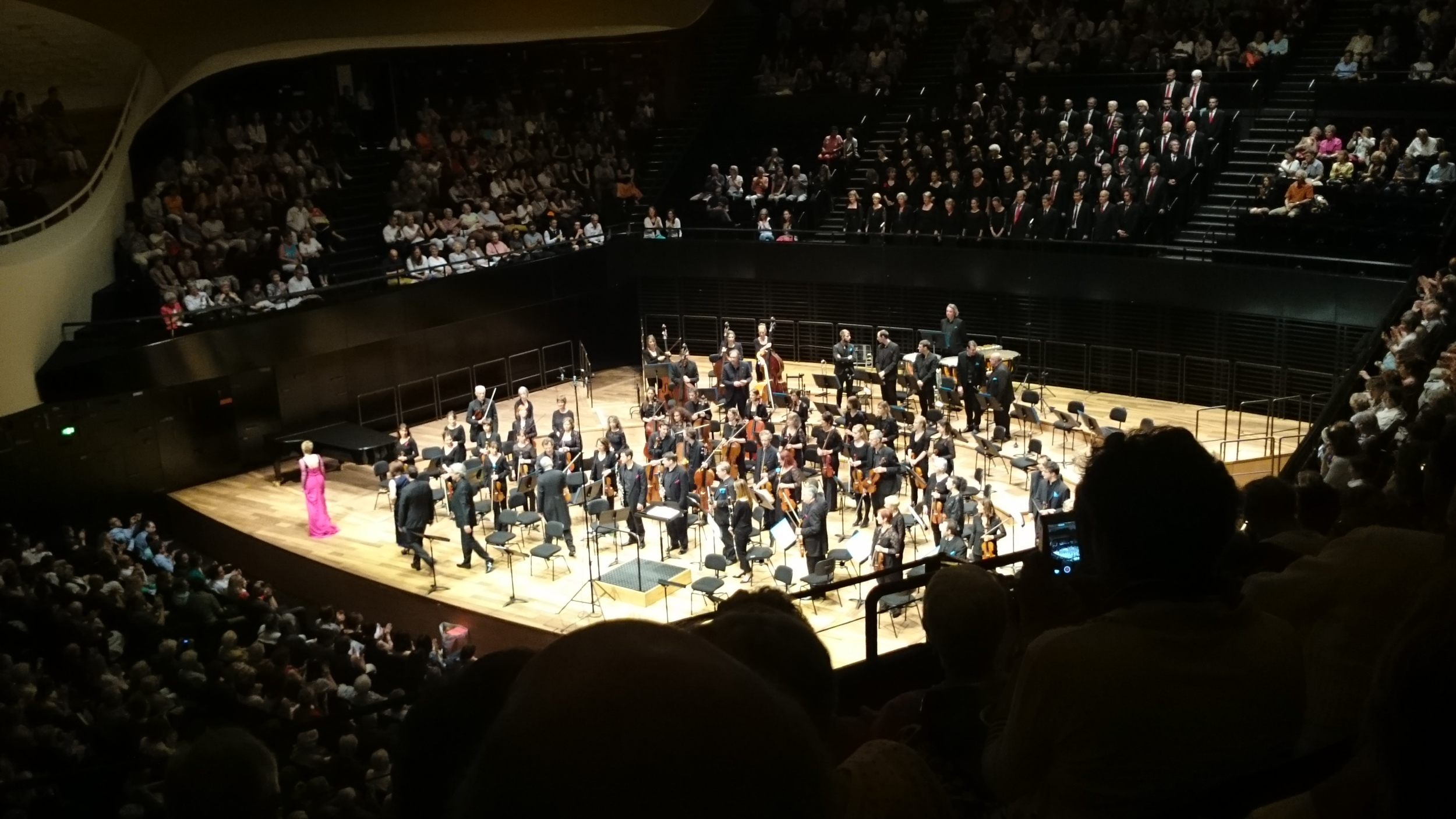 Beethoven and Mozart, but really I just went to see the auditorium design