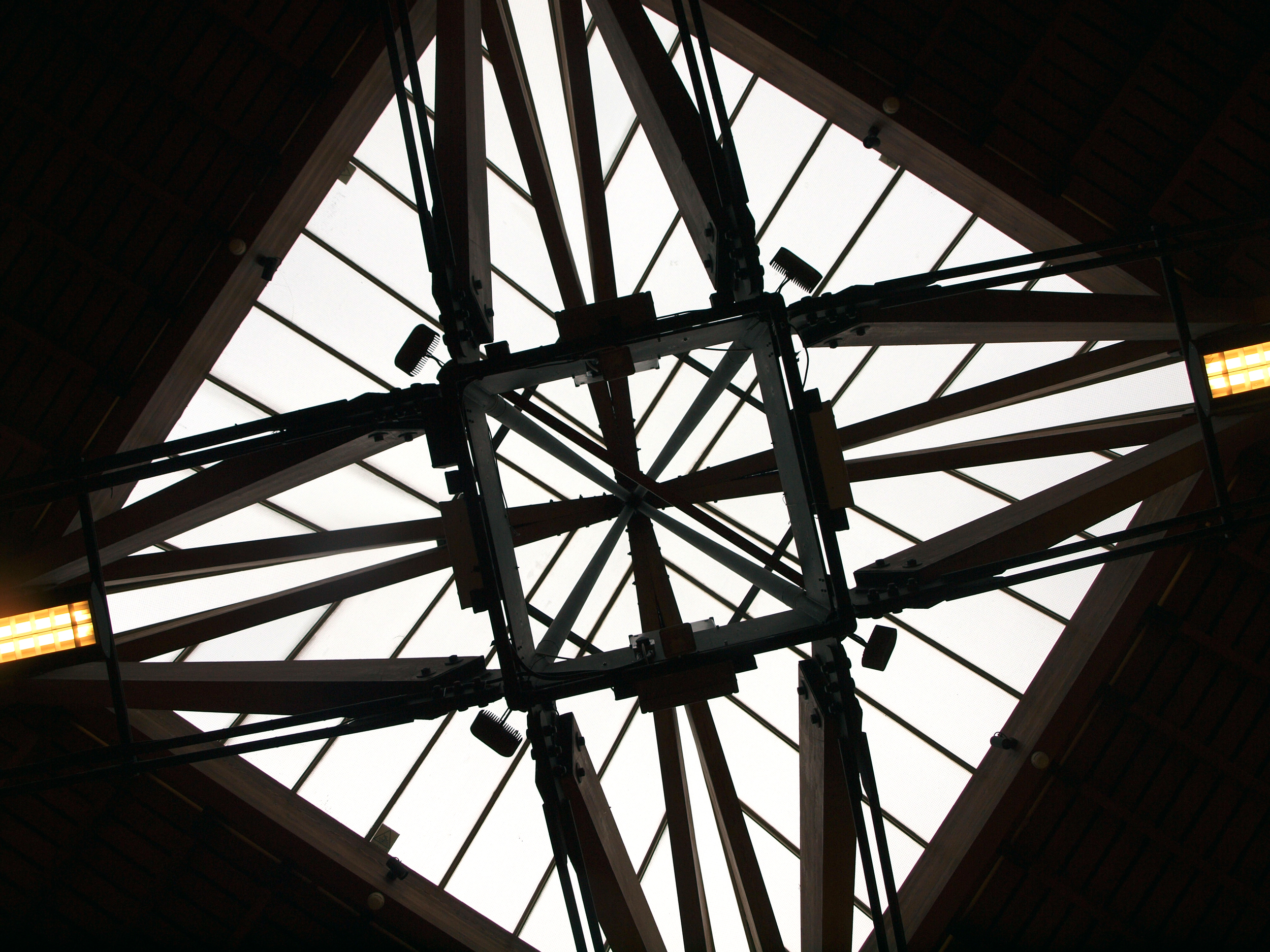 Sky light from the reflected ceiling