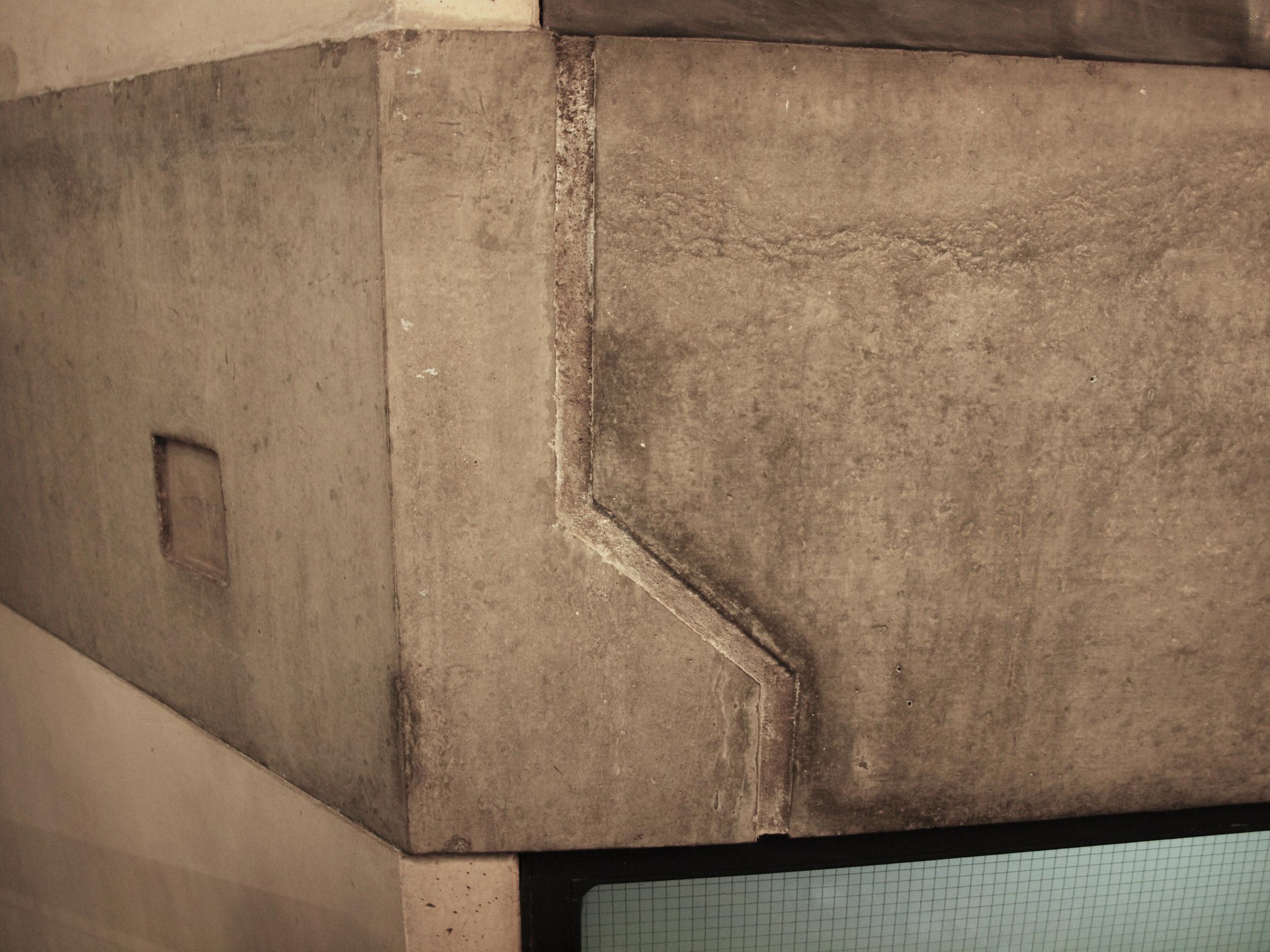 Concrete casting detail