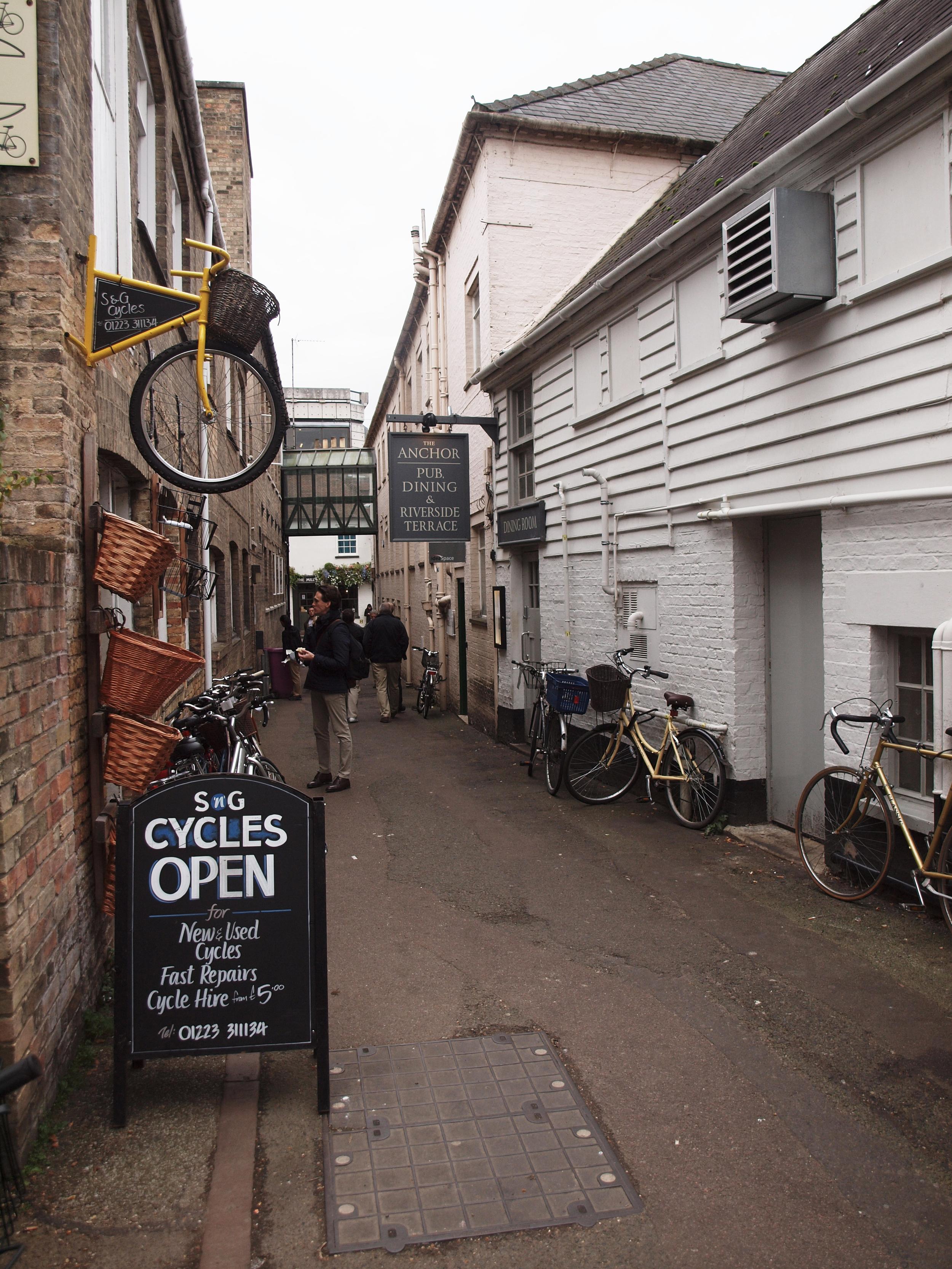 Streets of Cambridge