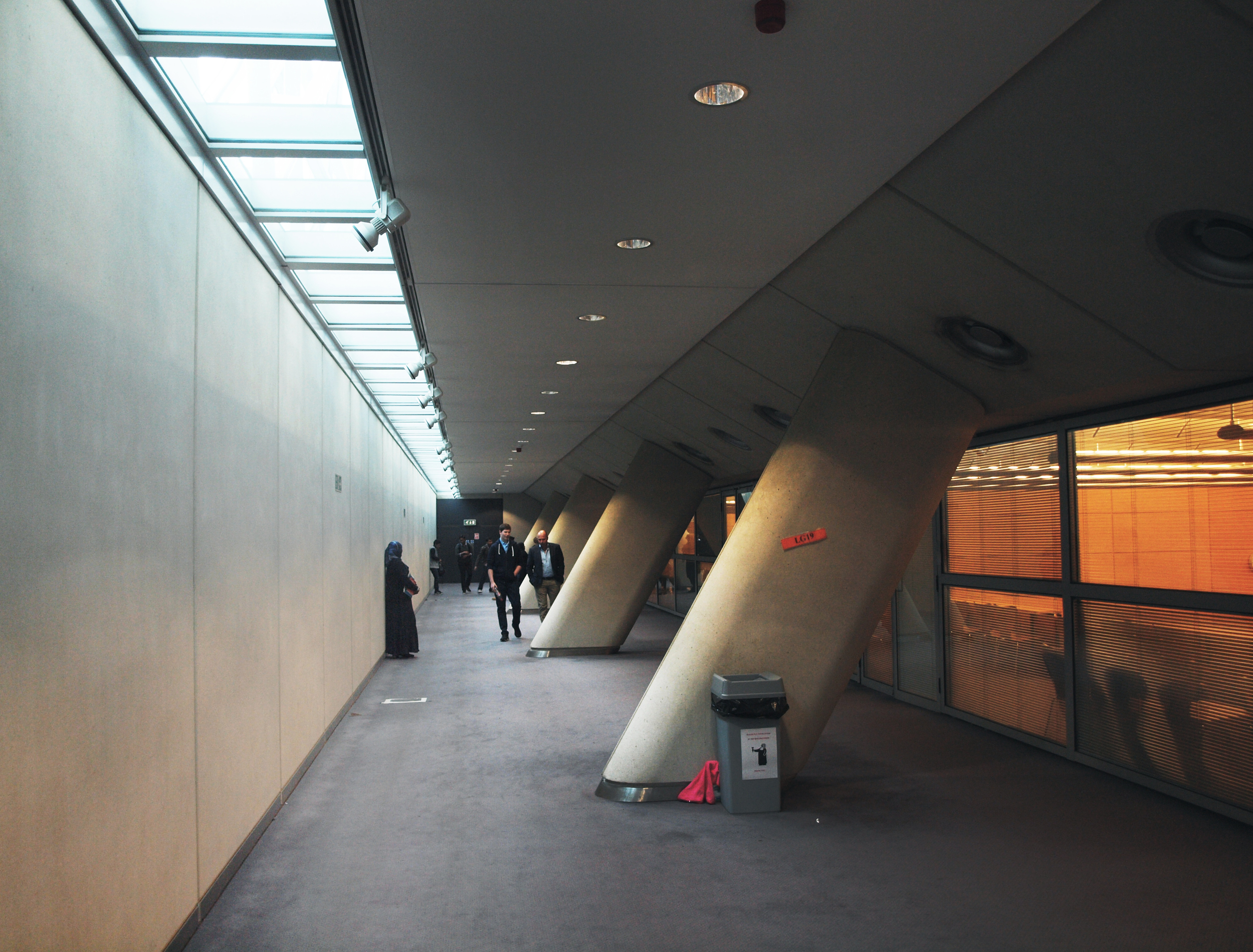 Basement of the Cambridge Faculty of Law