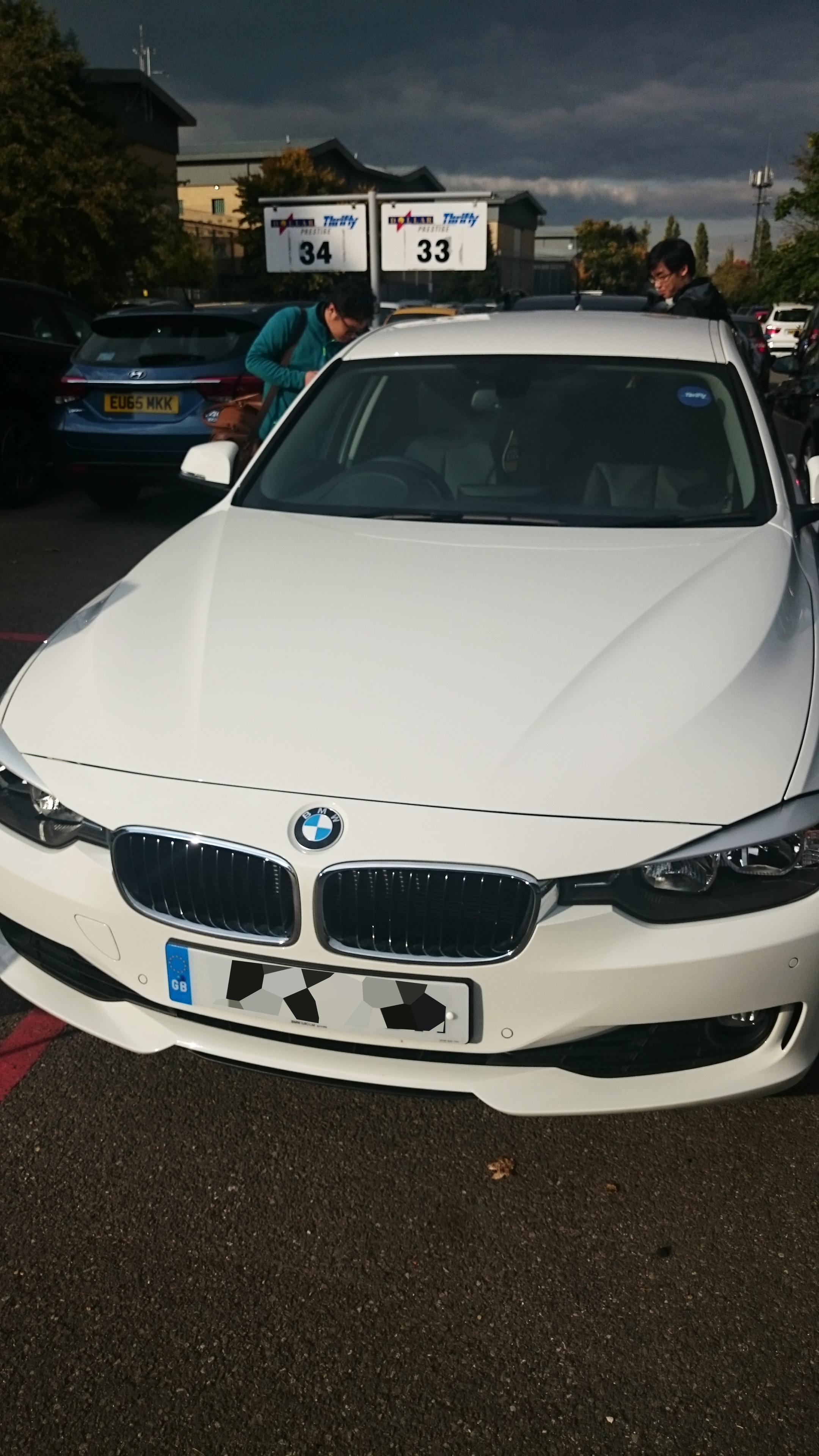 BMW still in perfect shape..