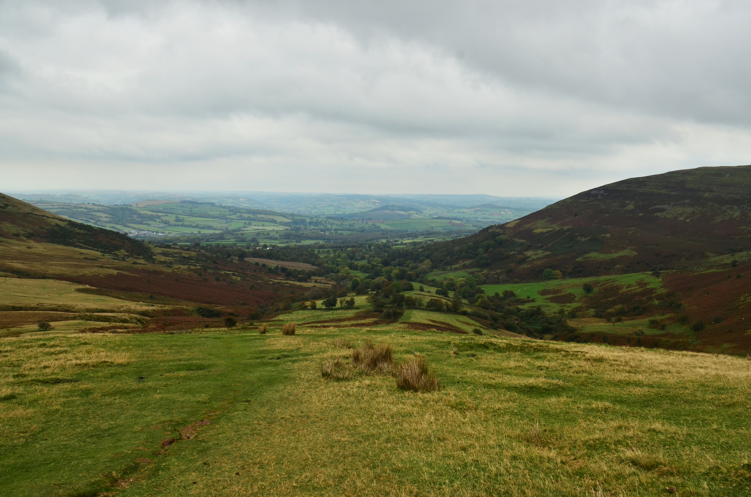 Last panoramic view