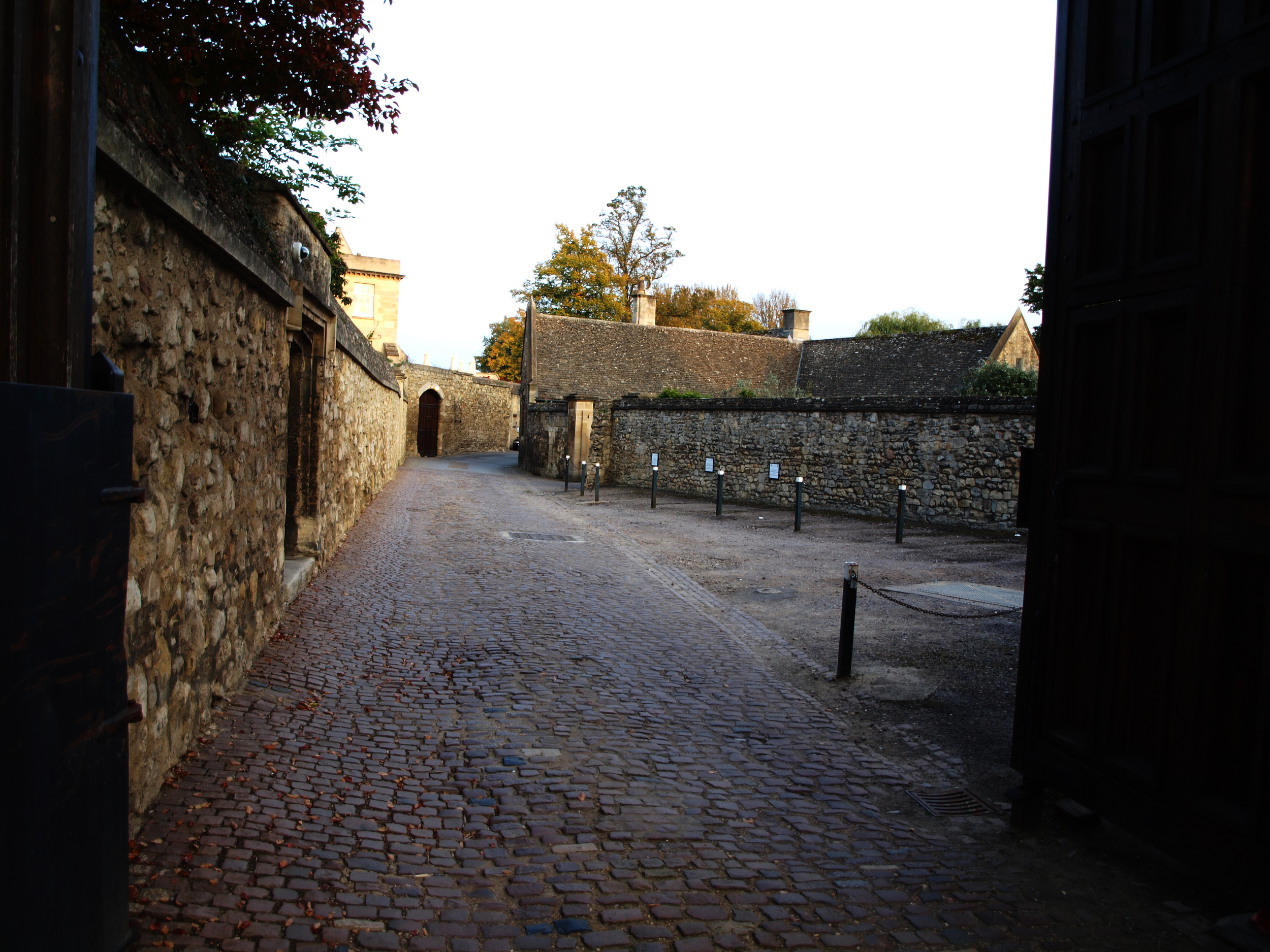 Old streets of Oxford
