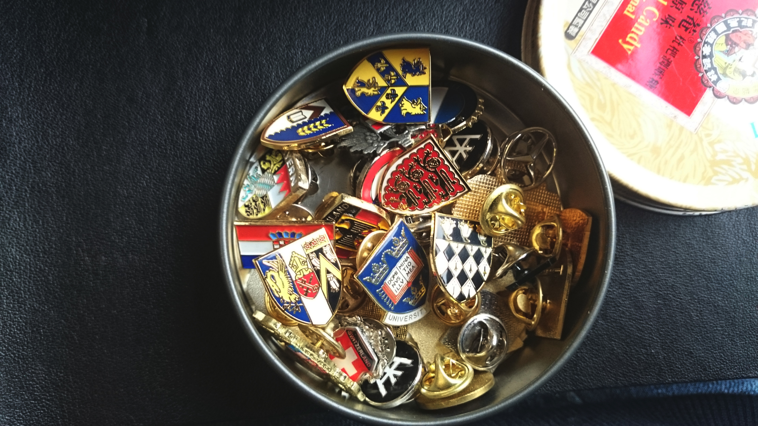 Pin collection I acquired across europe! ignore the duplicates haha