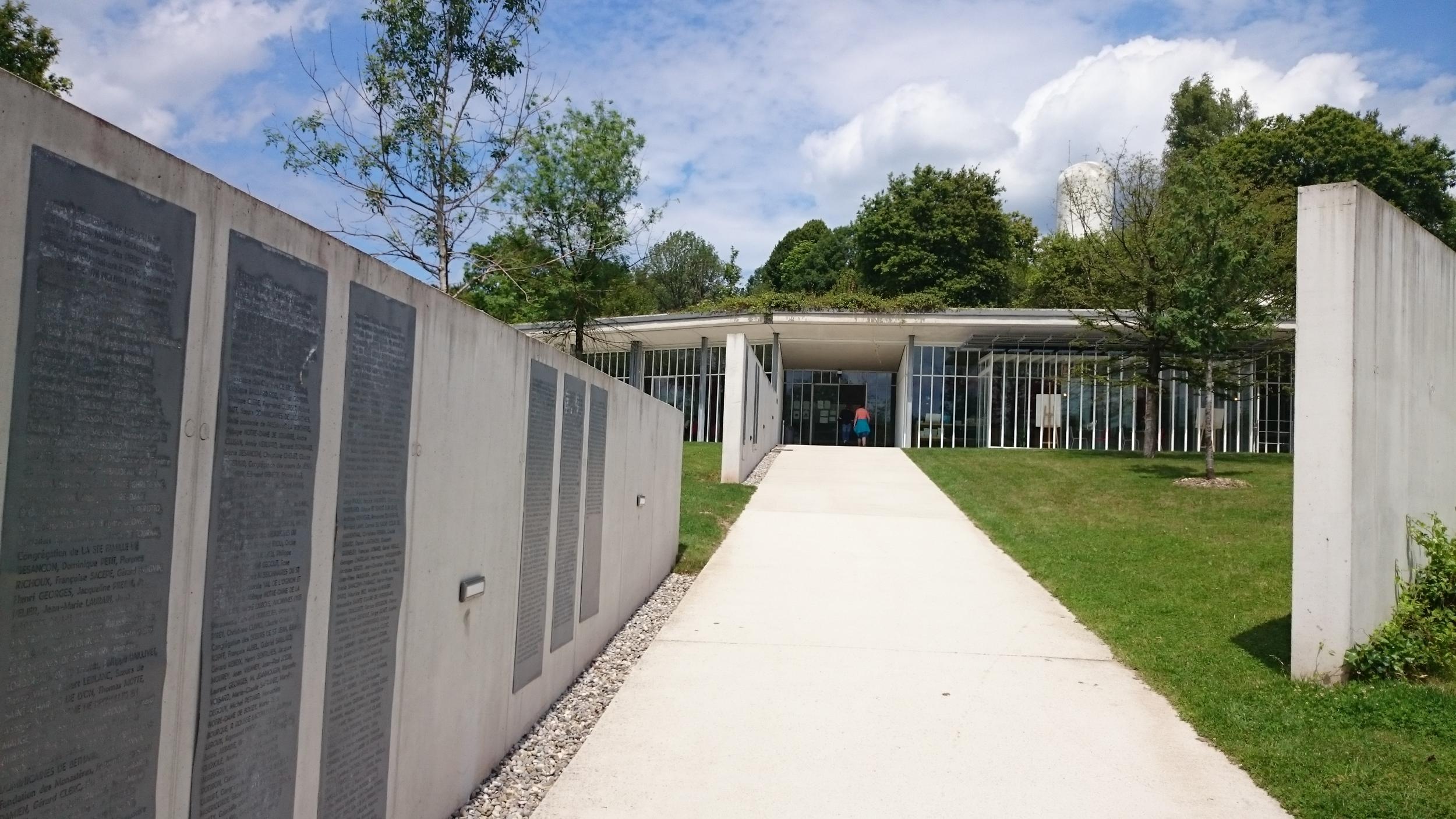 Tourist Center for Notre Dame Du Haut