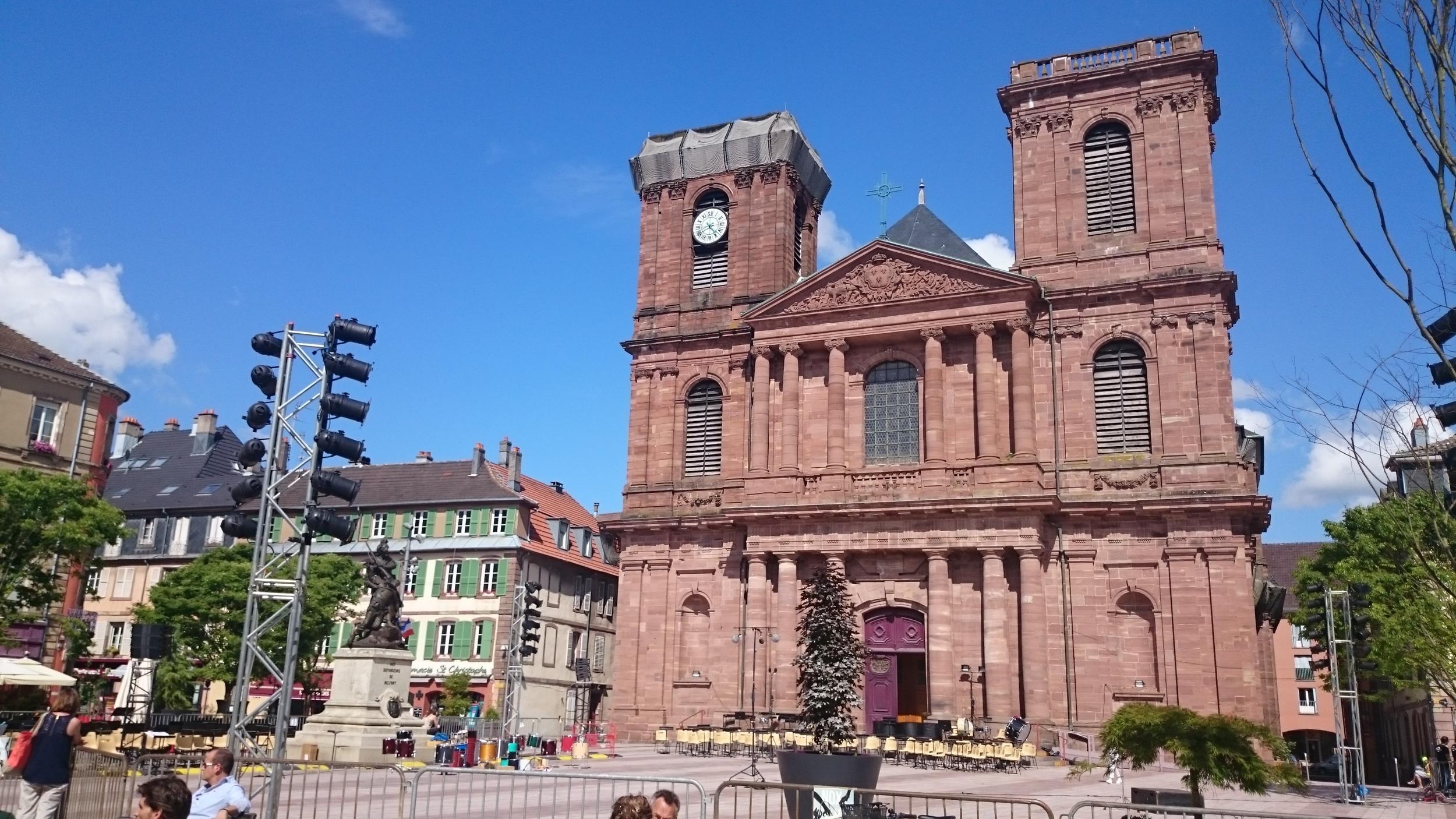 Main church of Belfort