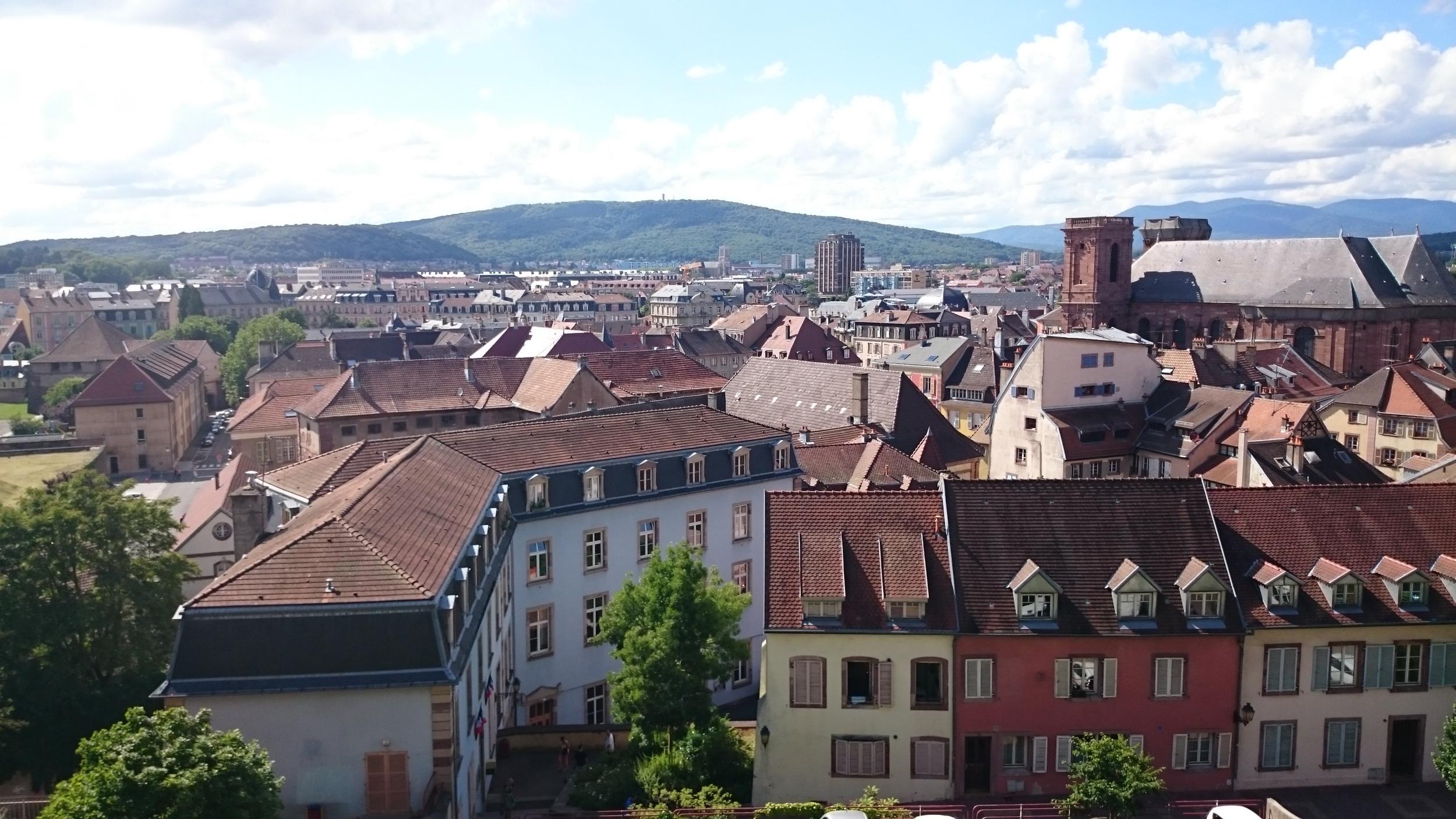 View of Belfort... yeah