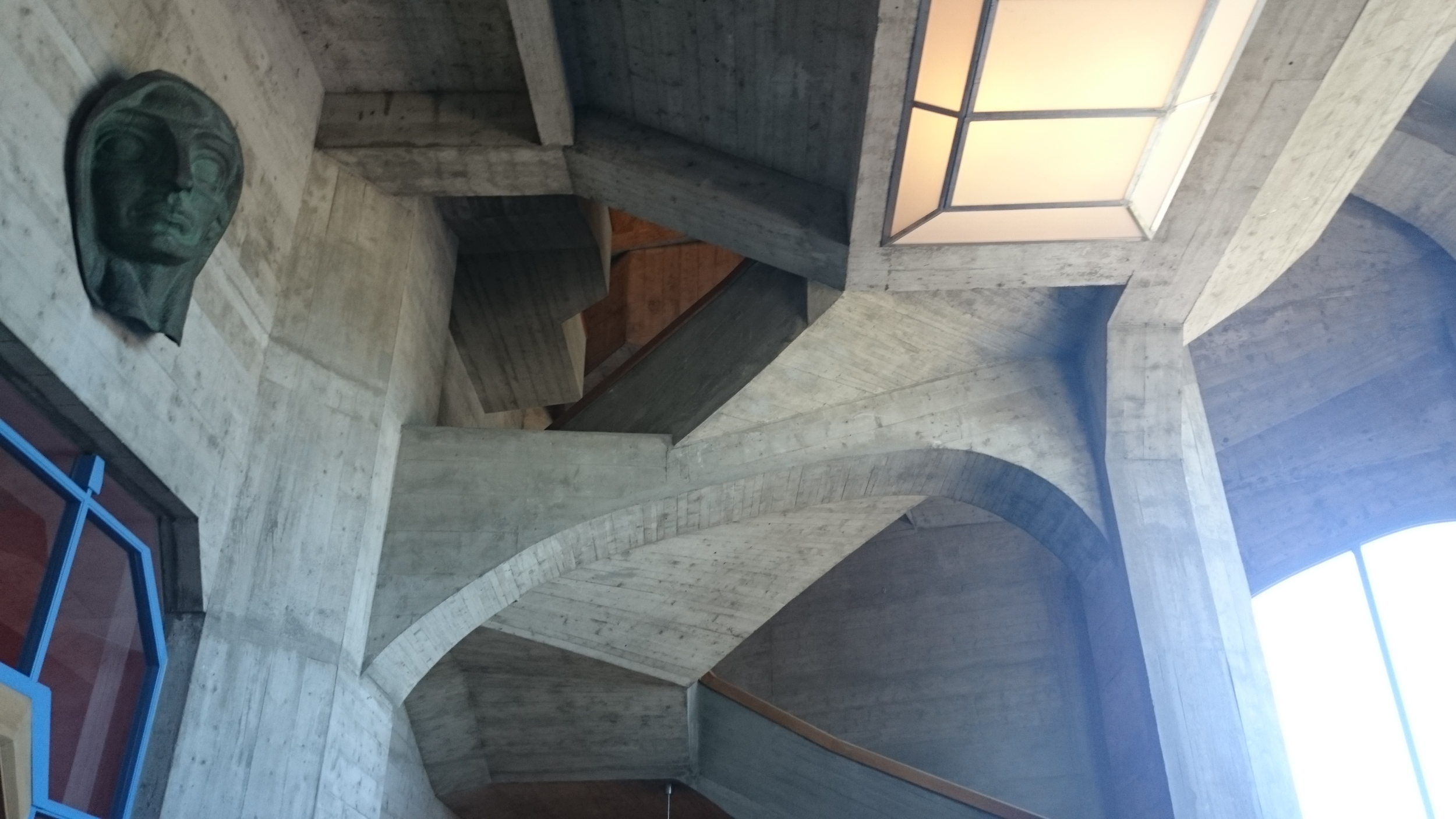 Structure and nice cast concrete