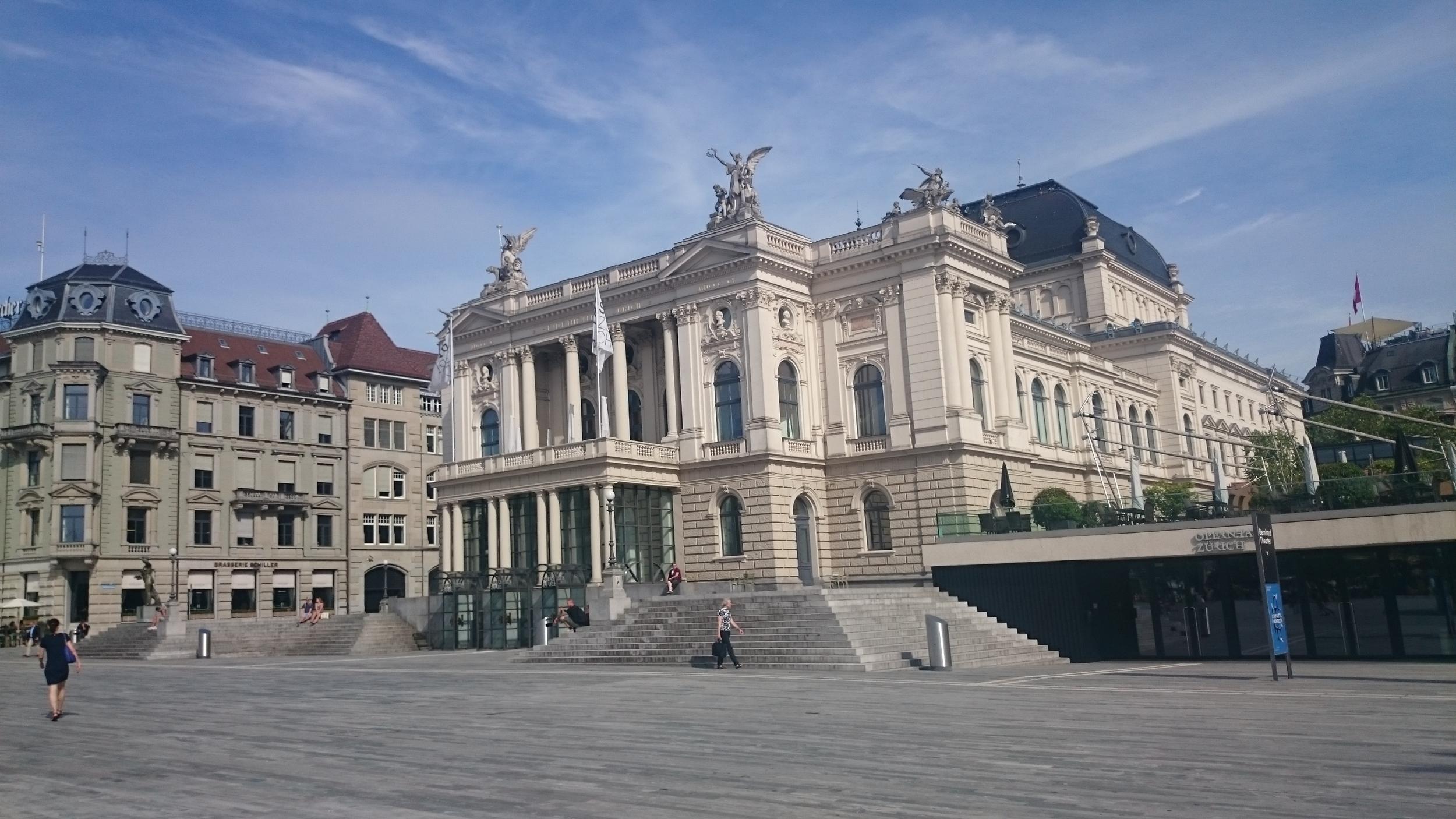 Sechseläutenplatz Zurich