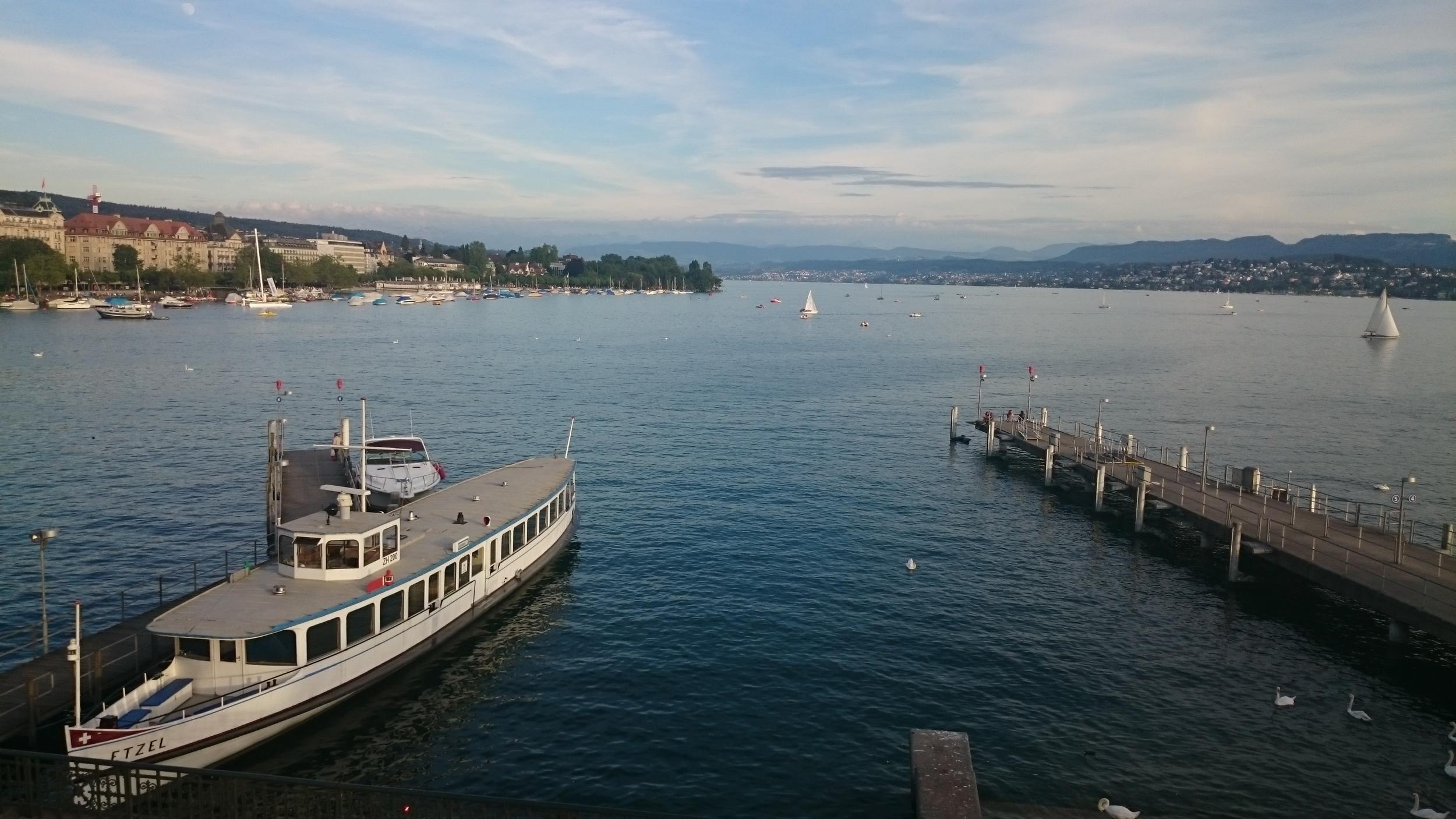 more views of Zurich